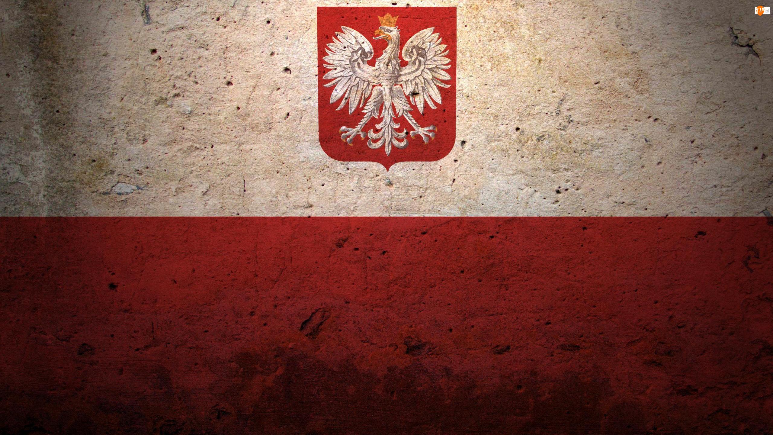 Polska, Flaga, Herb narodowy, Godło