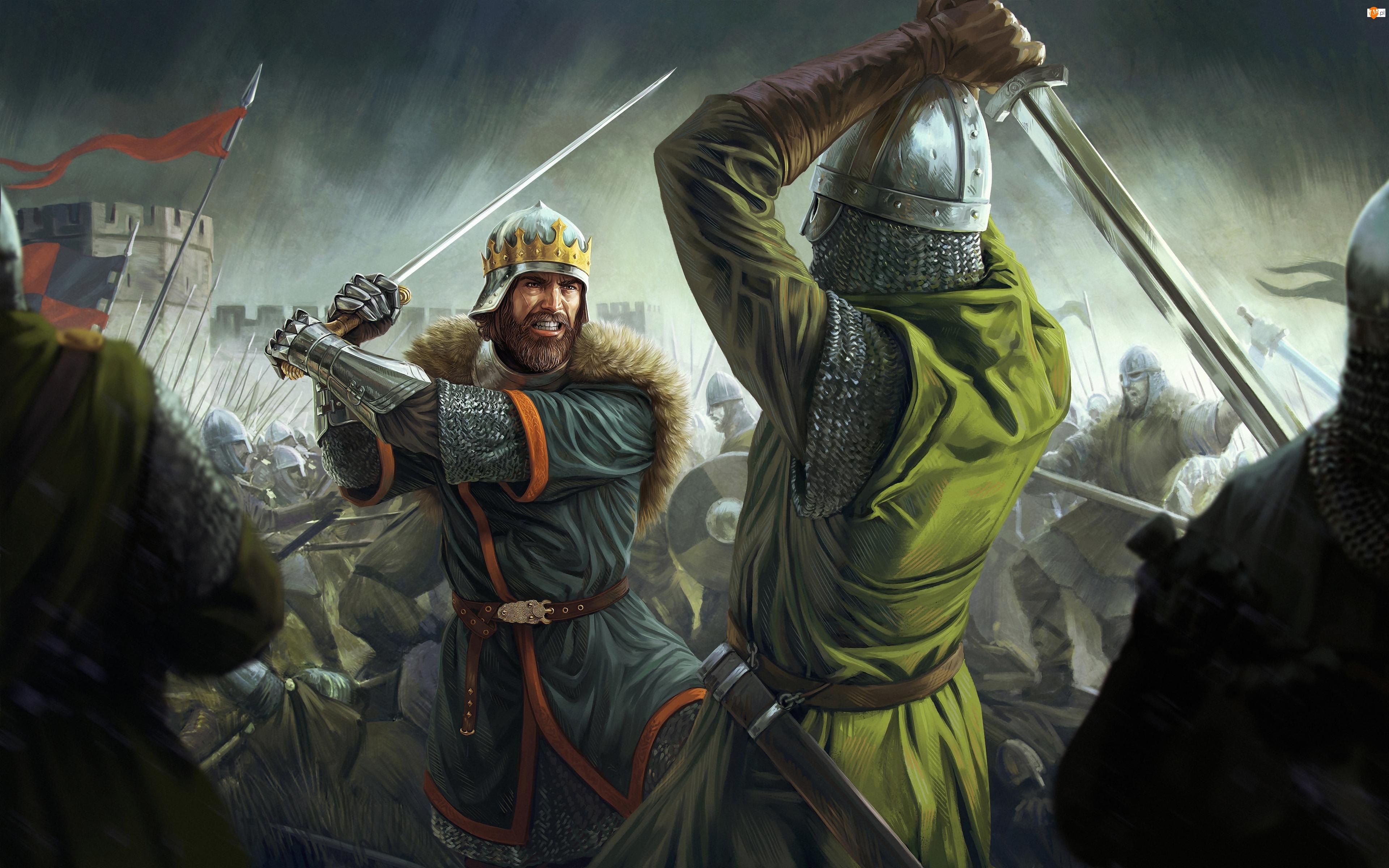 Walka, Gra, Total War Battles Kingdom, Postacie