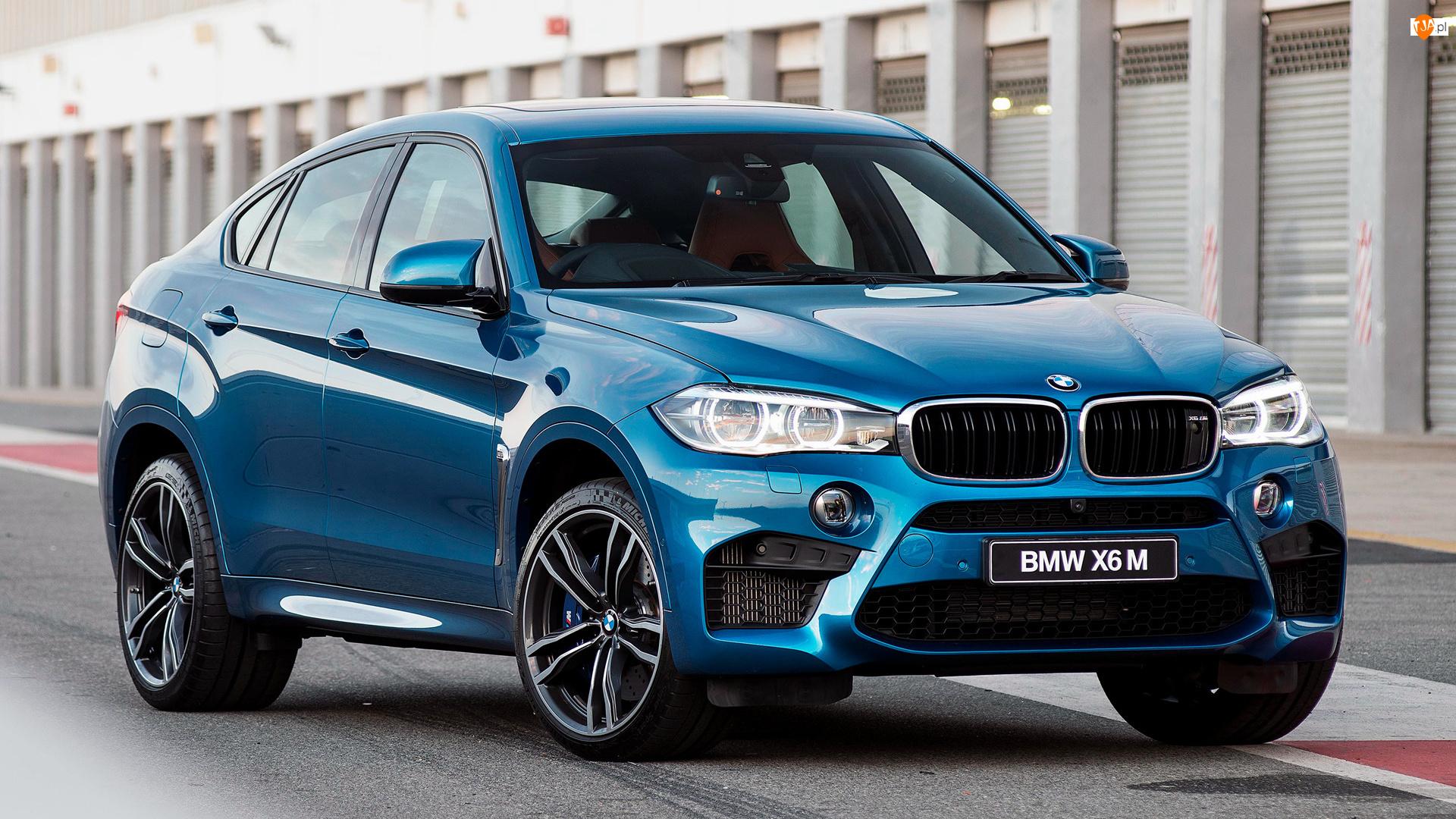 Druga generacja, Niebieskie, BMW X6 M, F16