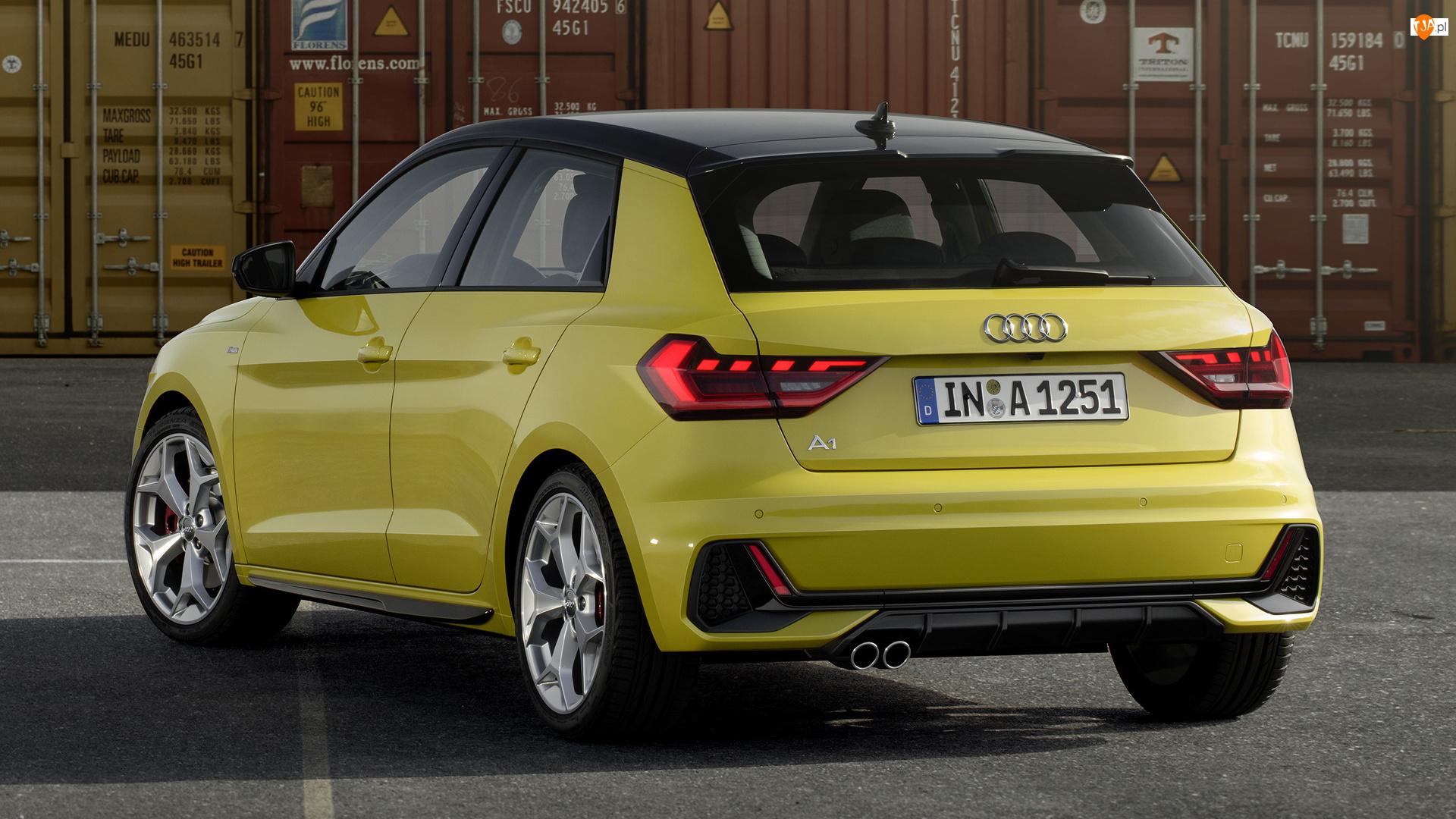 Tył, Audi A1 Sportback S