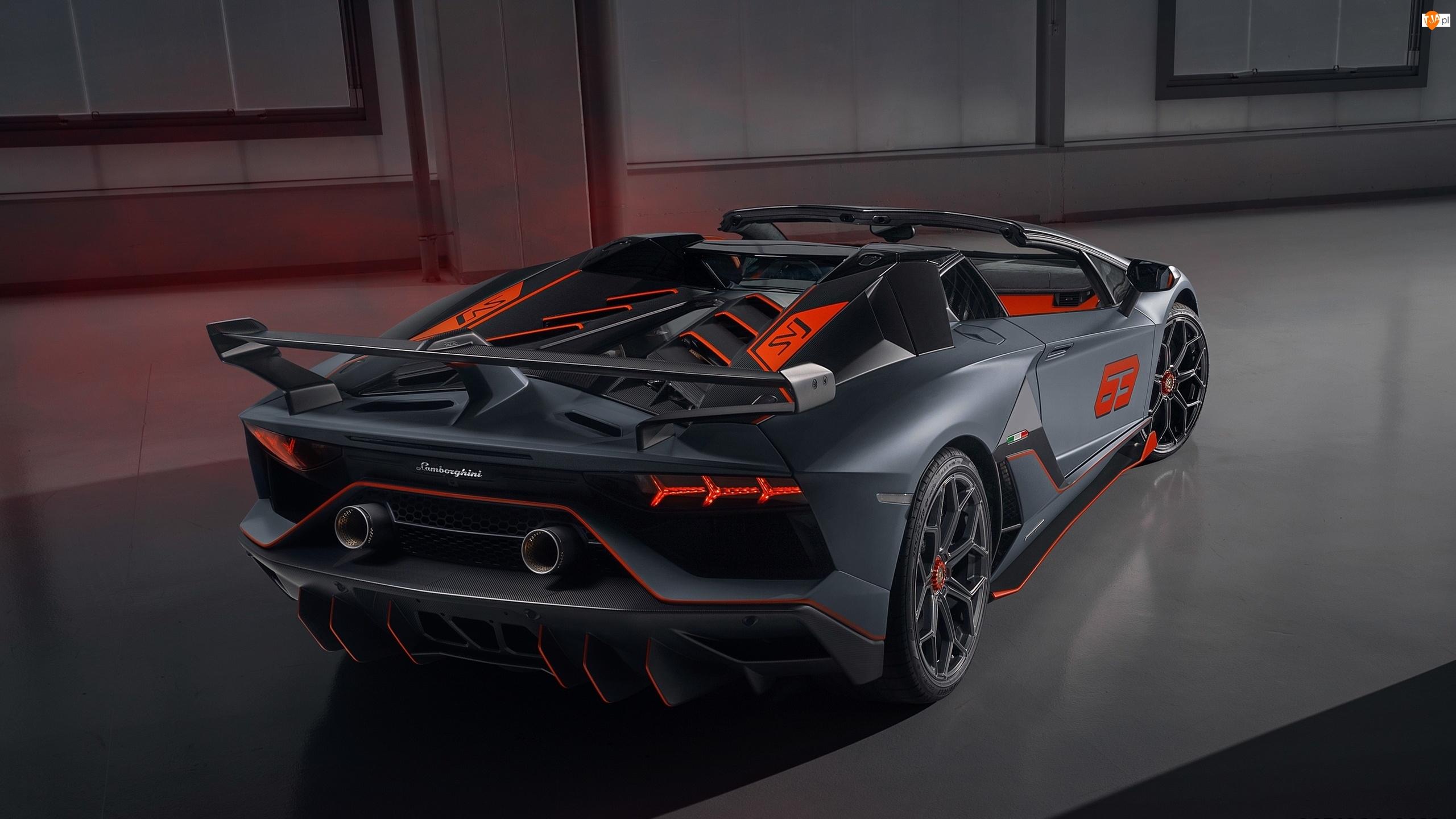 2020, Lamborghini Aventador, SVJ 63