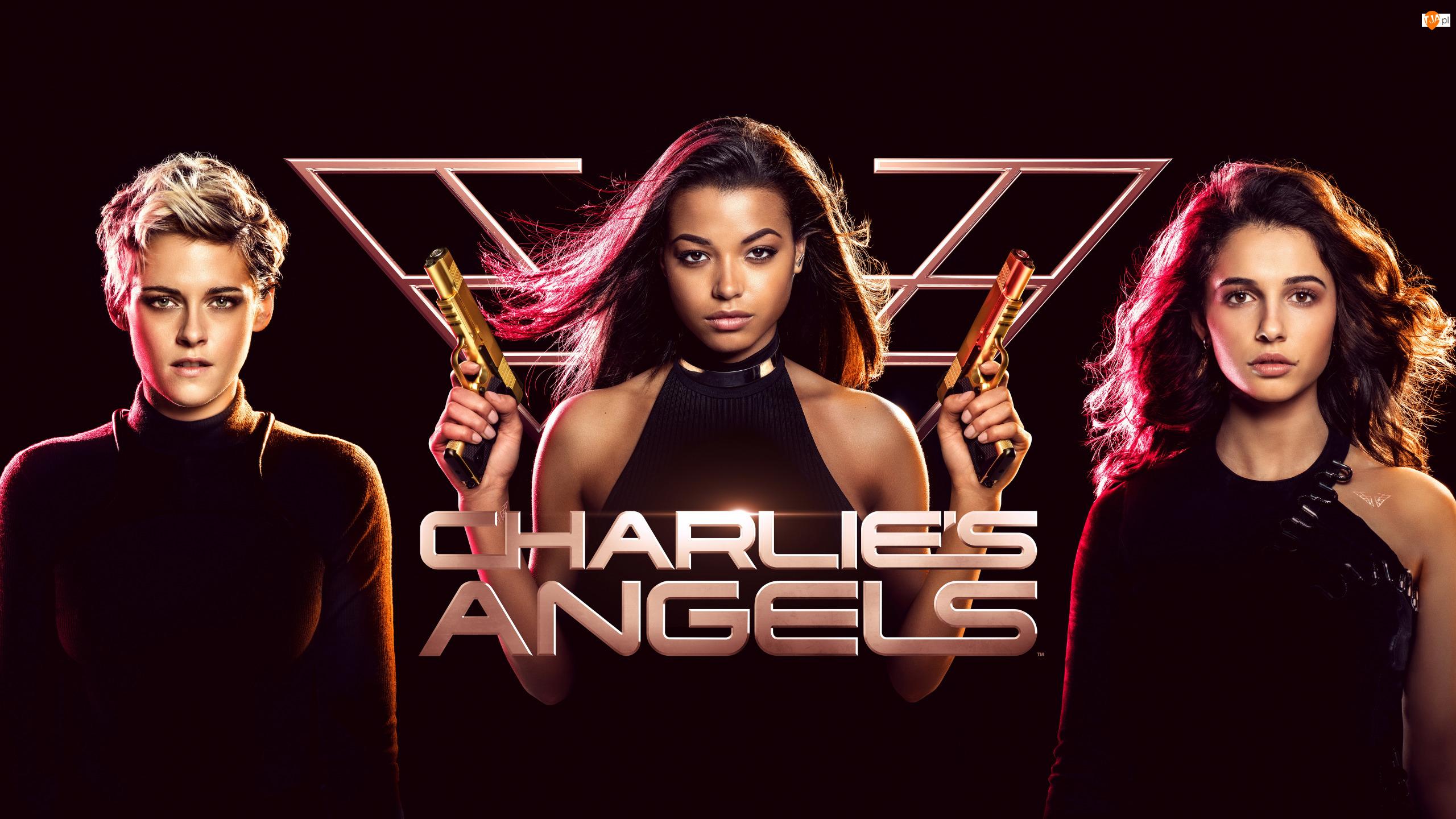 Aniołki Charliego, Charlies Angels, Naomi Scott, Film, Ella Balinska, Kristen Stewart, Aktorka