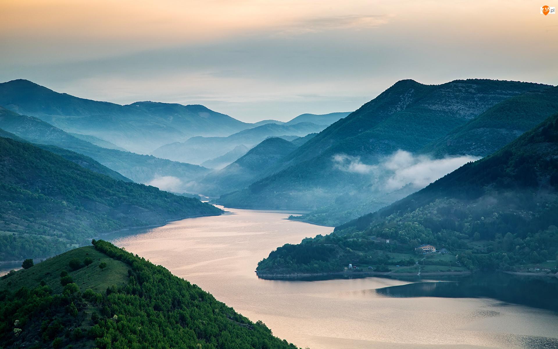 Rzeka Arda, Bułgaria, Rodopy, Góry, Kyrdżali