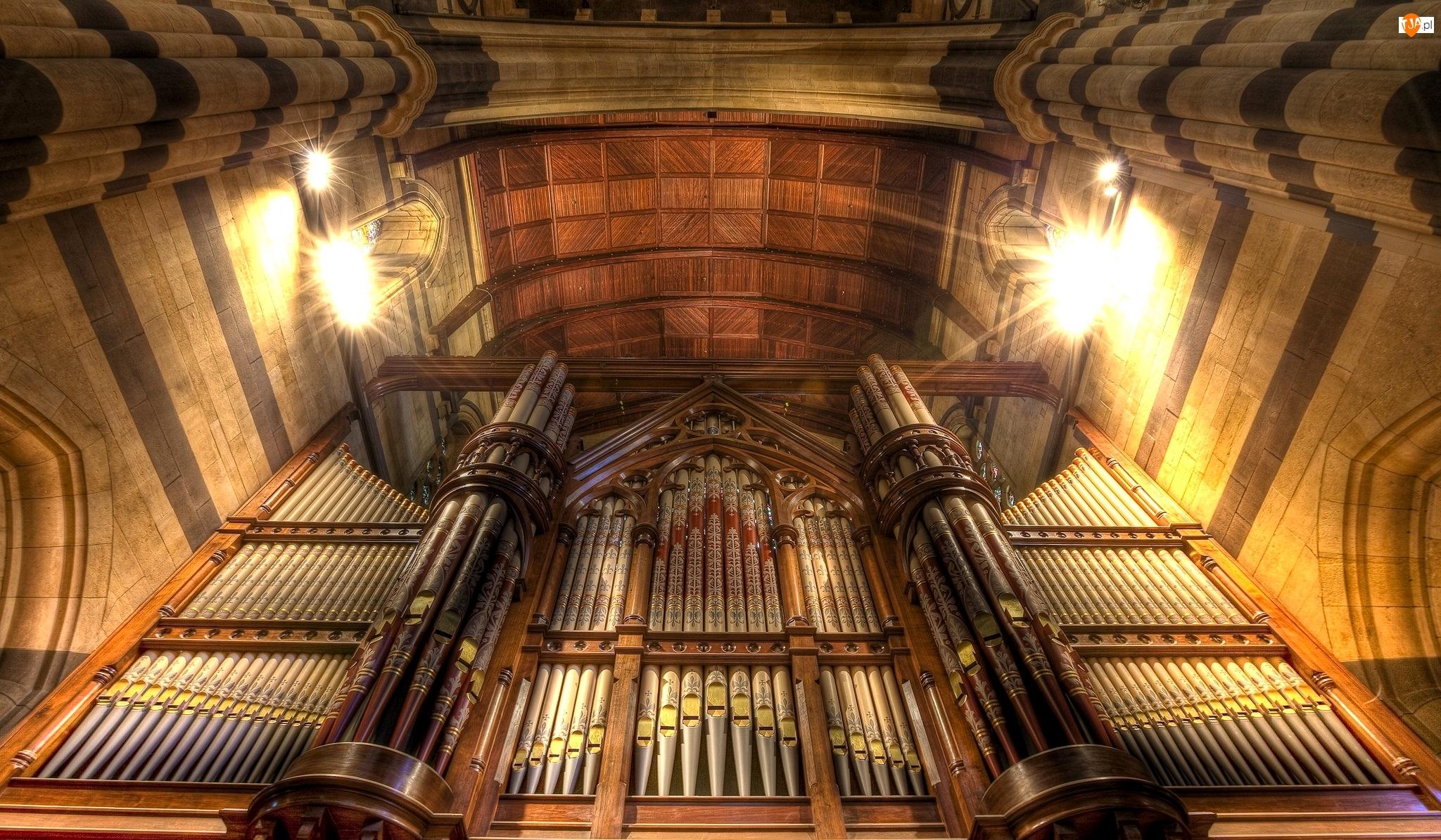 Katedra św, Organy, Melbourne, Australia, Pawła, Stan Wiktoria