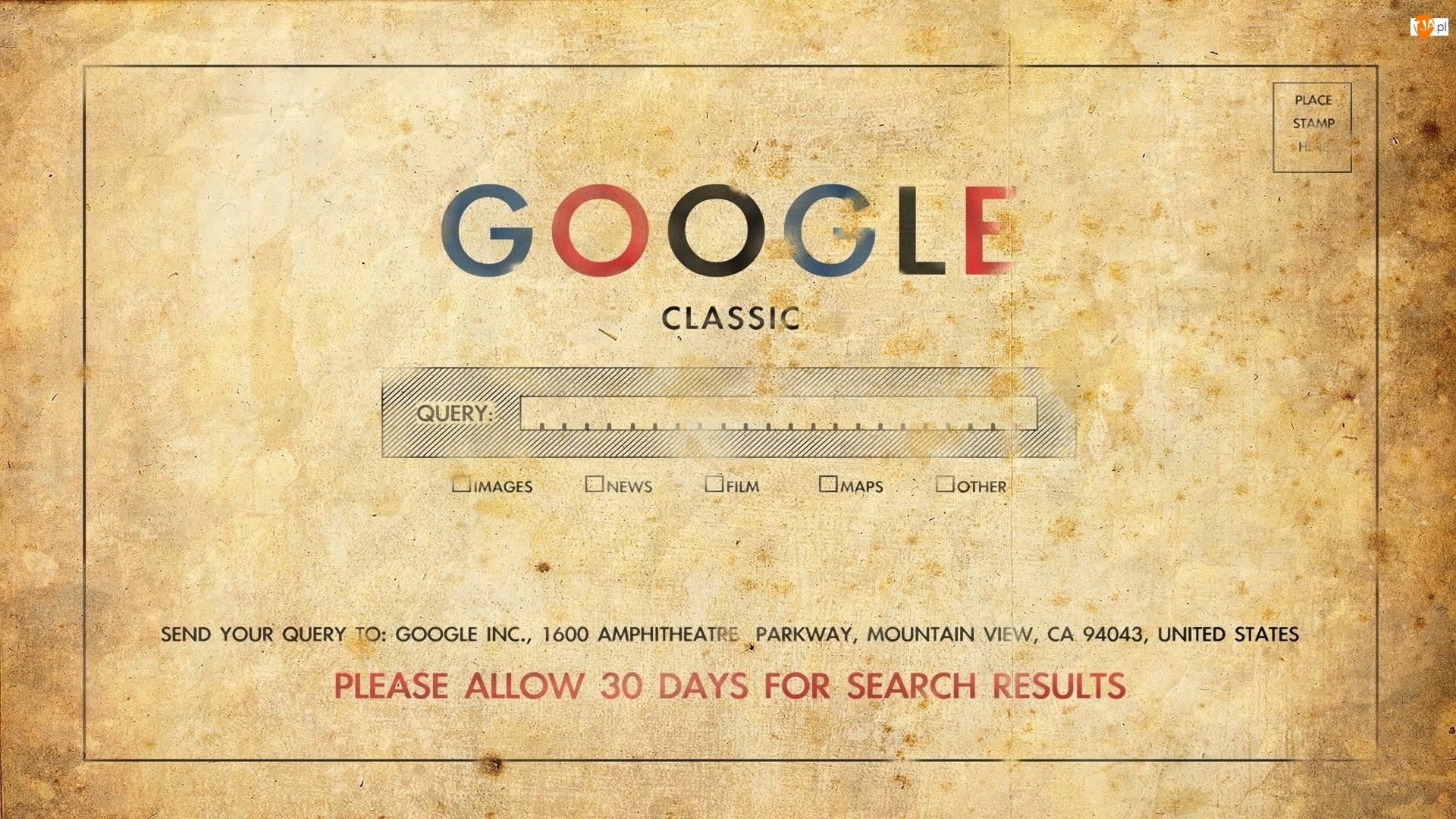 Google, Stary, Dokument, Tekst