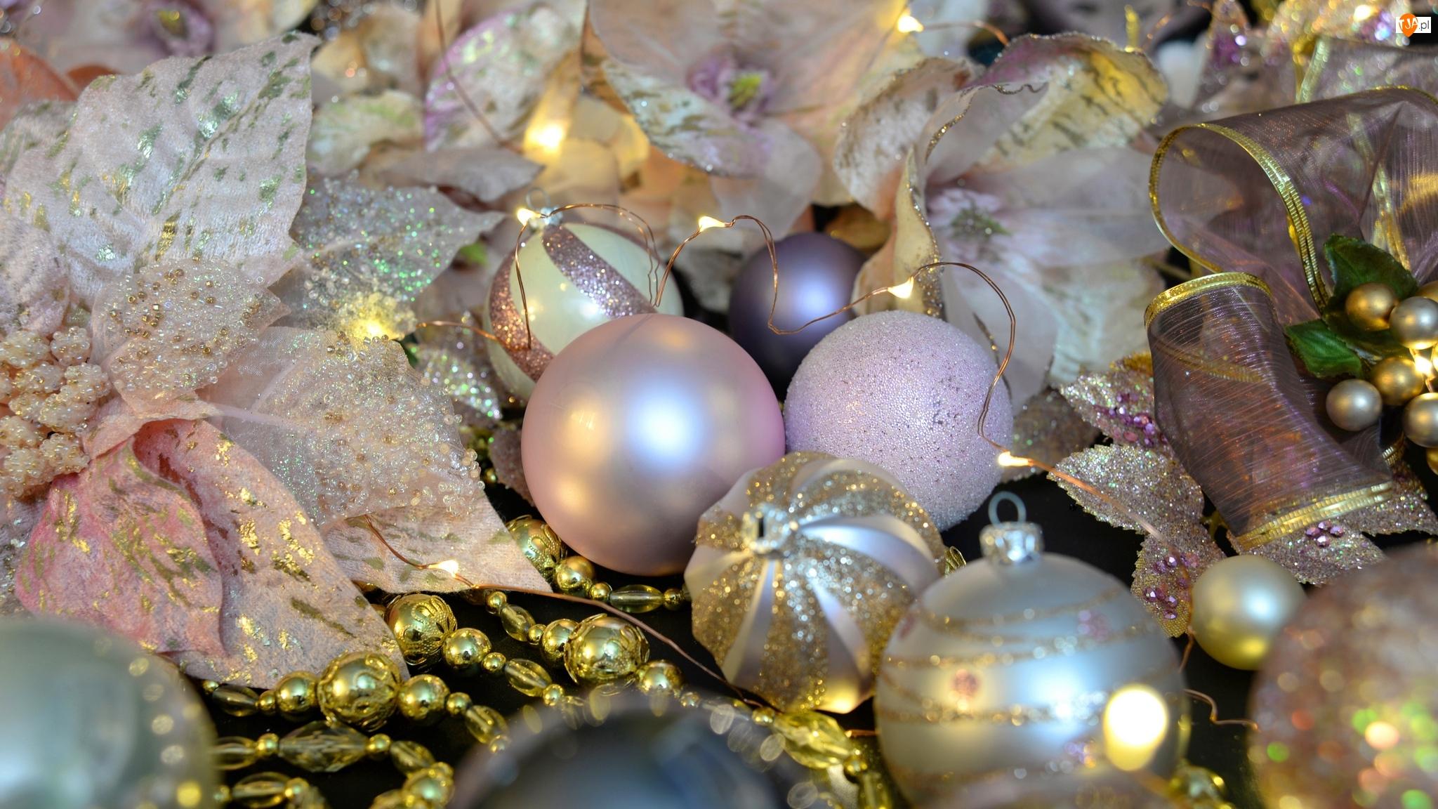 Boże Narodzenie, Bombki, Ozdoby