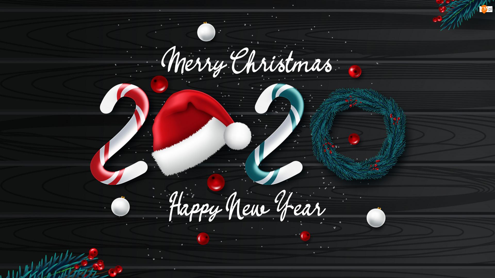Mikołaja, Nowy Rok, 2020, Czapka