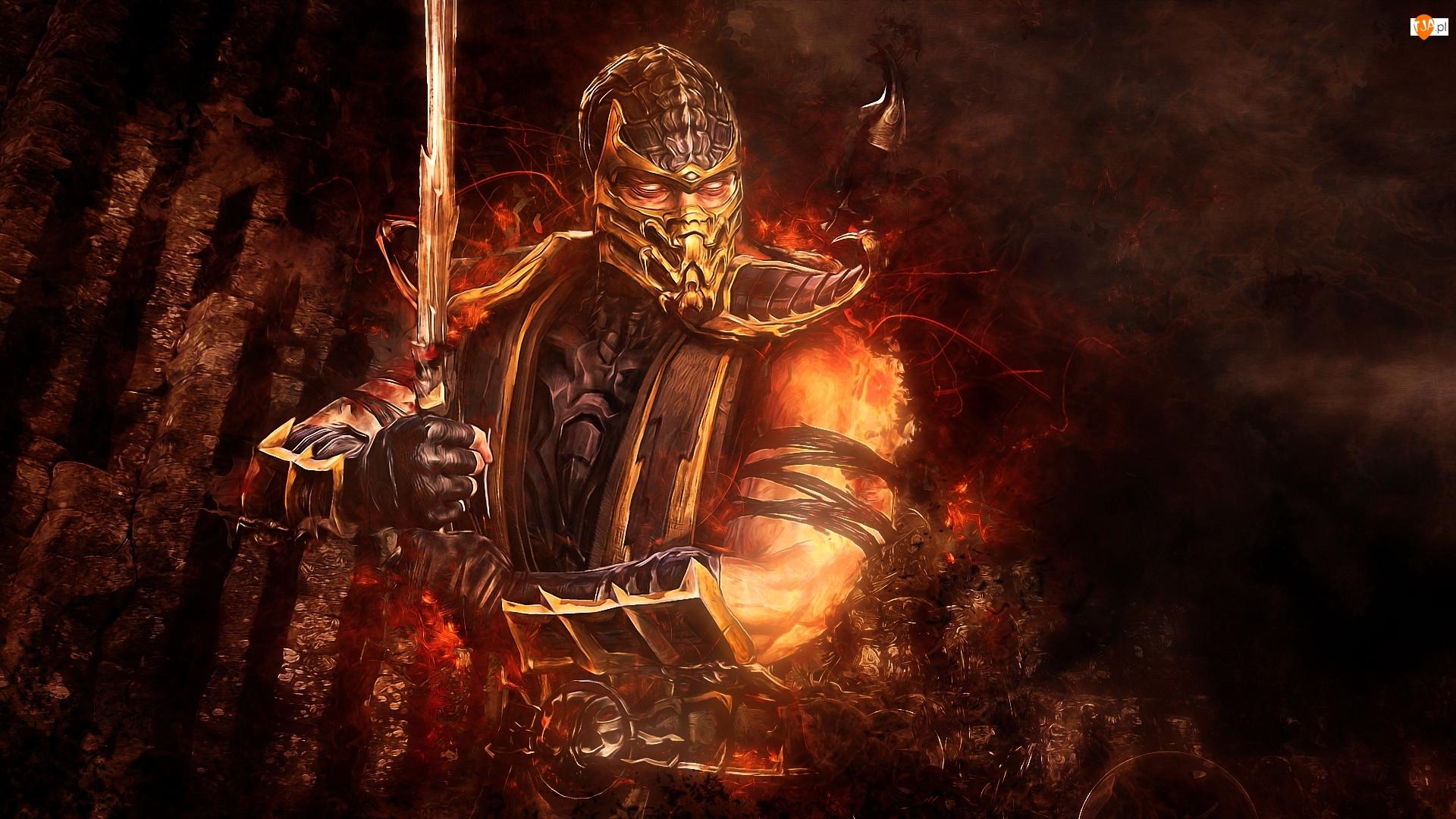 Scorpion, Gra, Mortal Kombat, Postać