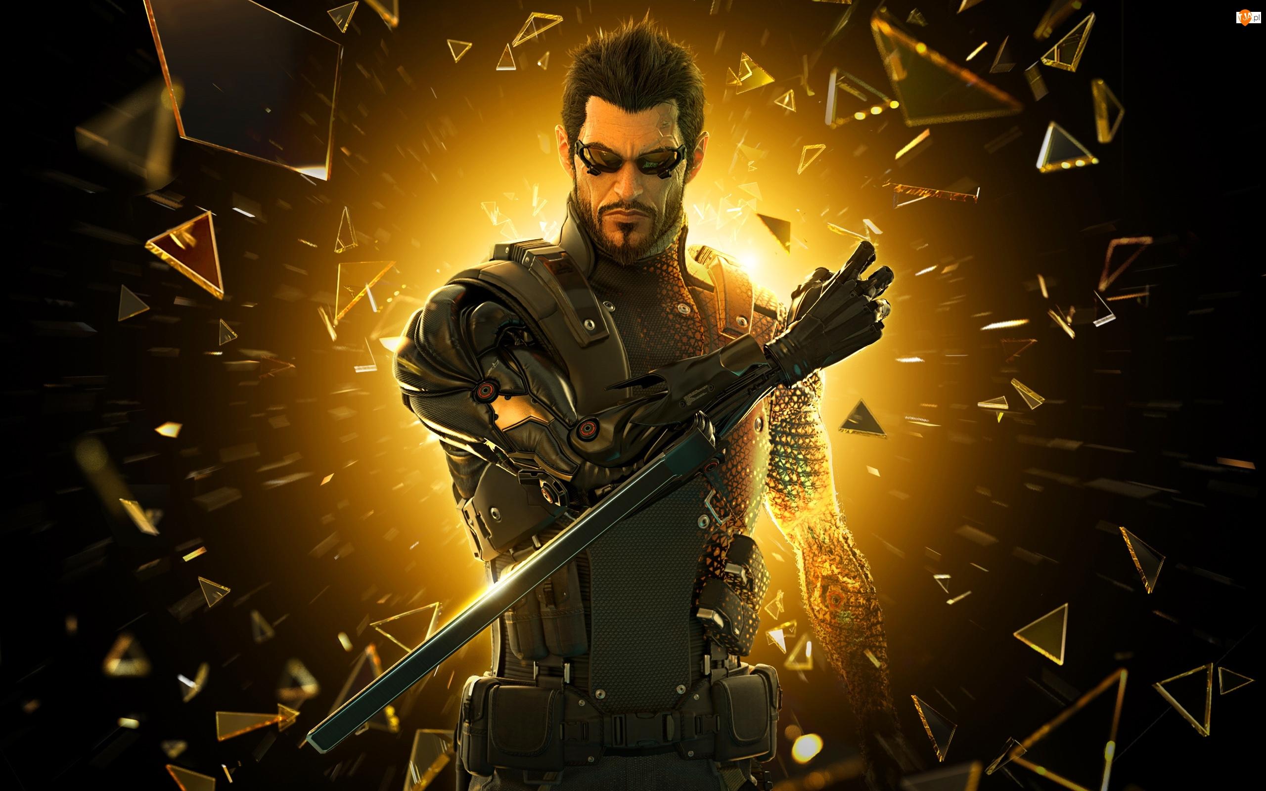 Deus Ex Bunt ludzkości, Postać, Szkła, Gra, Odłamki, Zbroja, Adam Jensen