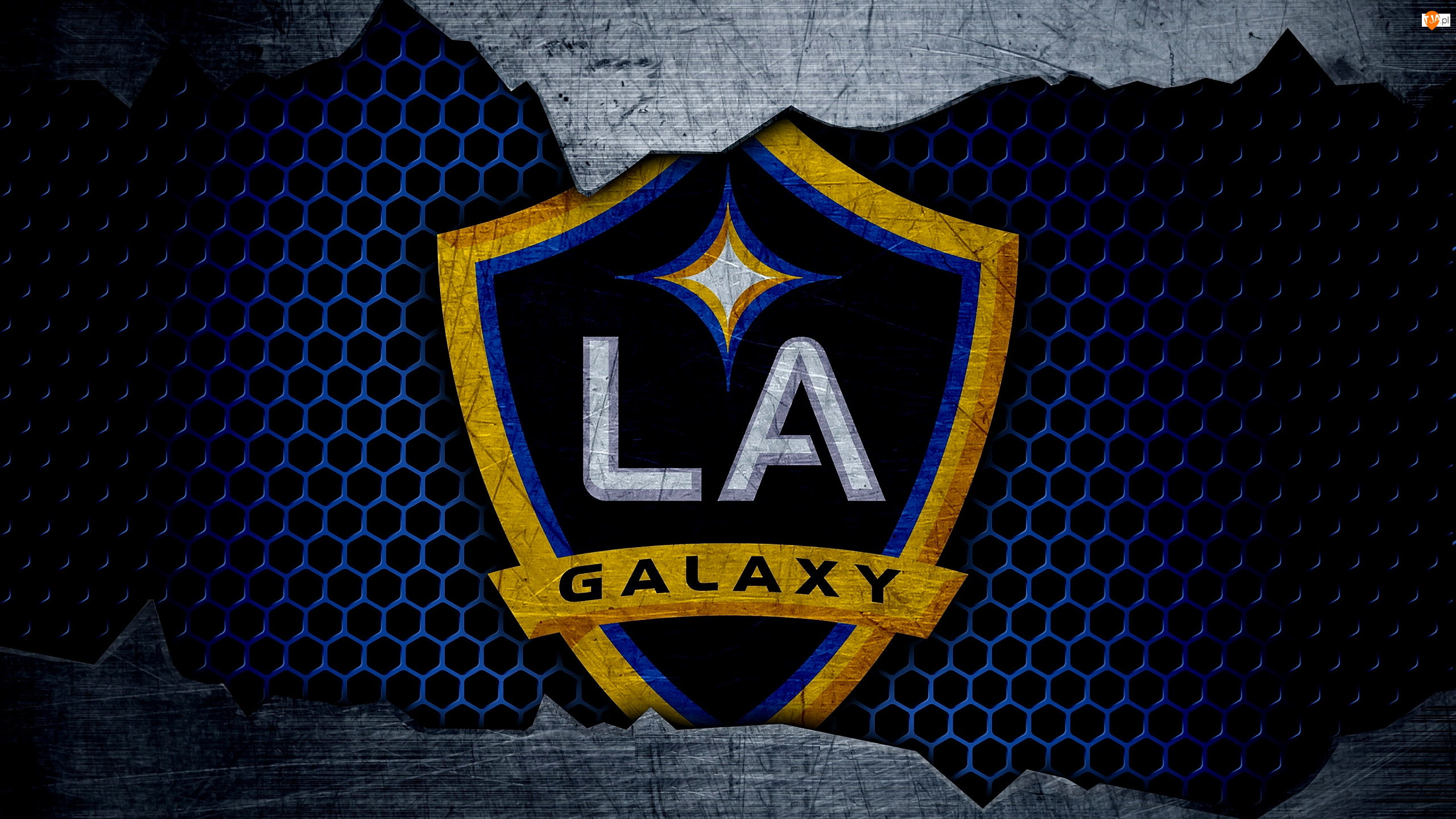 Los Angeles Galaxy, Logo, Klub piłkarski