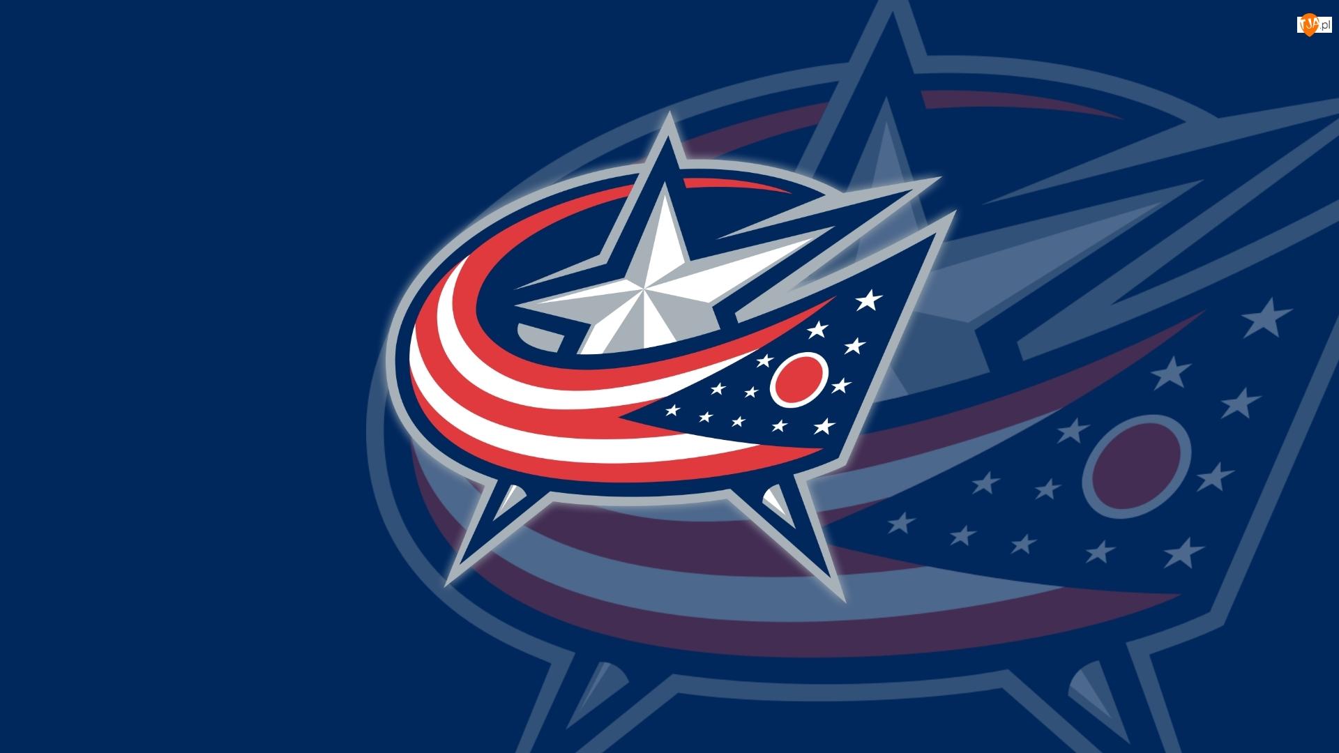 NHL, Logo, Klub hokejowy, Columbus Blue Jackets
