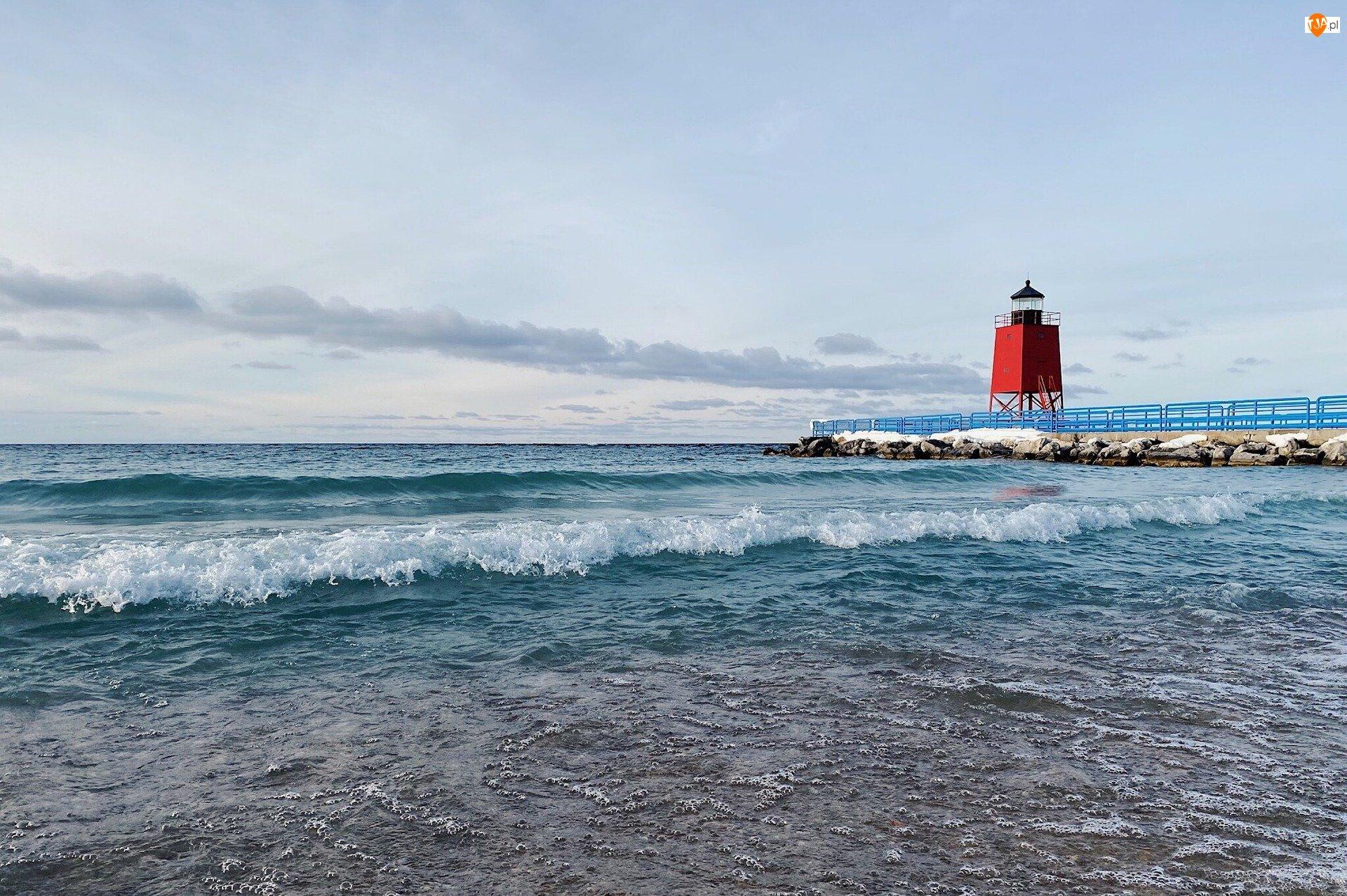 Stany Zjednoczone, Latarnia morska, Jezioro Lake Michigan