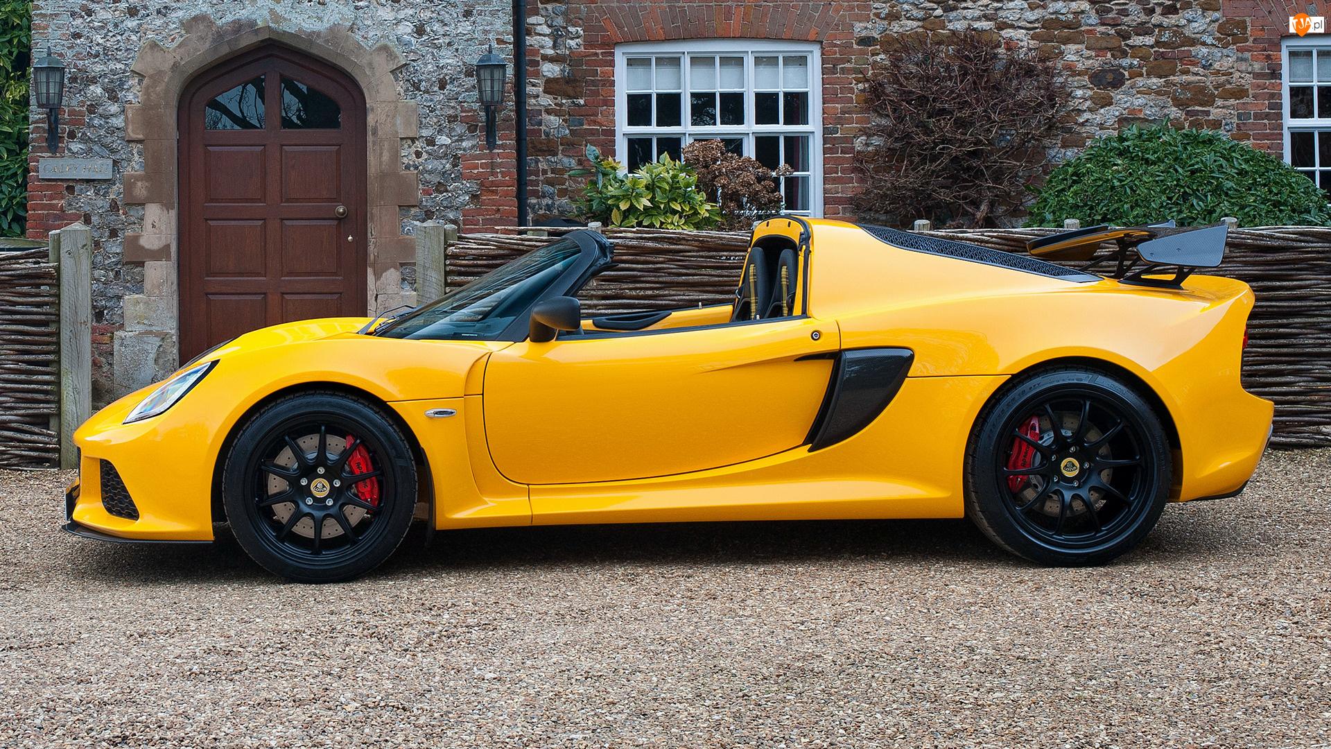 Lotus Exige Sport 350, Żółty
