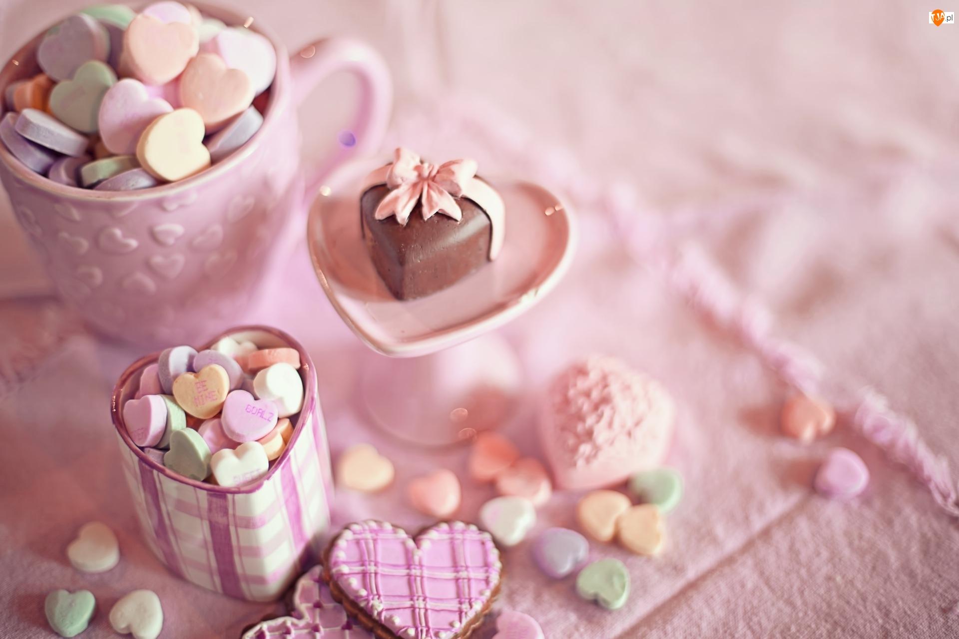 Ciasteczka, Słodycze, Cukierki, Czekoladka