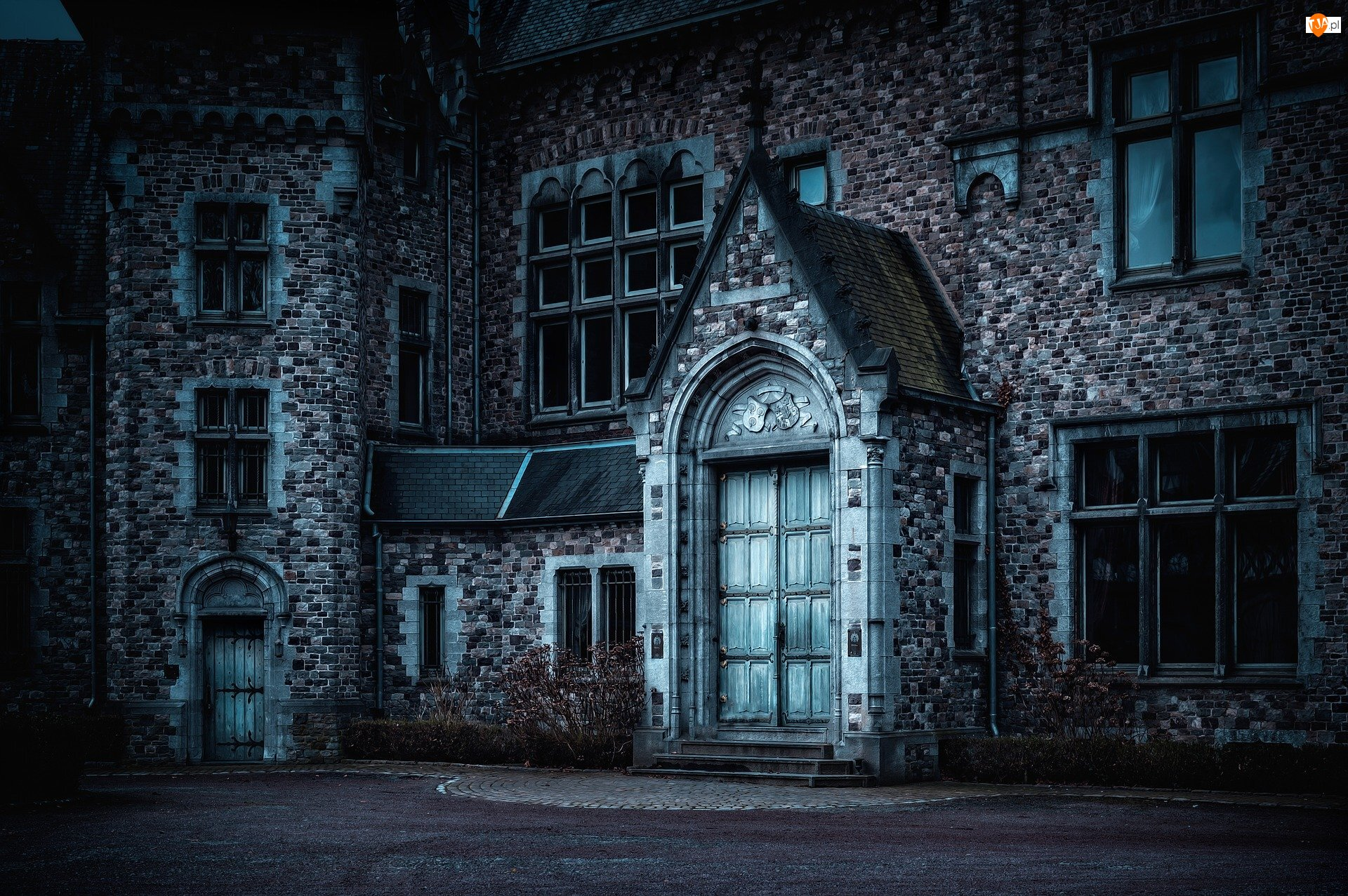 Architektura, Dom, Okna, Drzwi