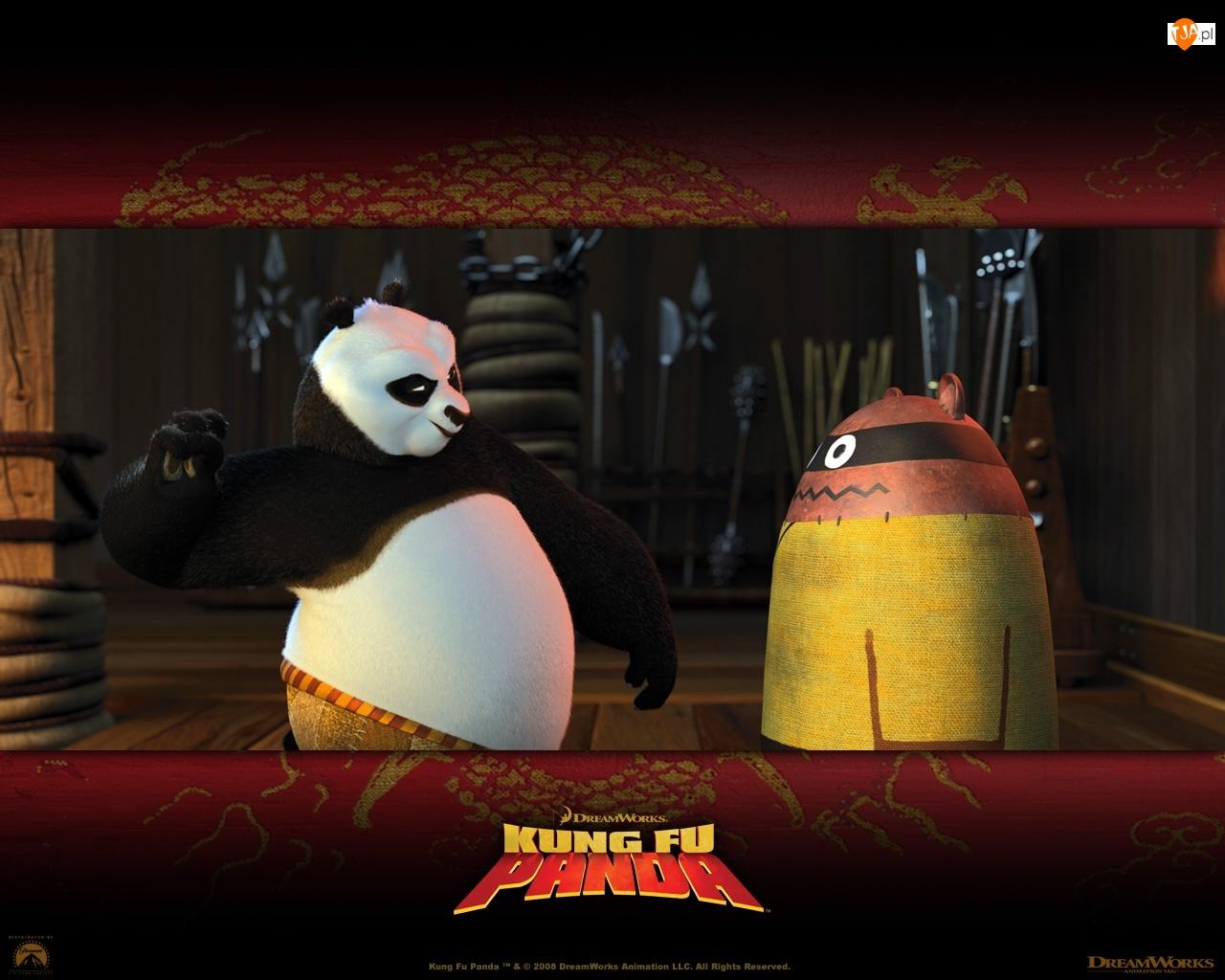 Kung Fu Panda, trening