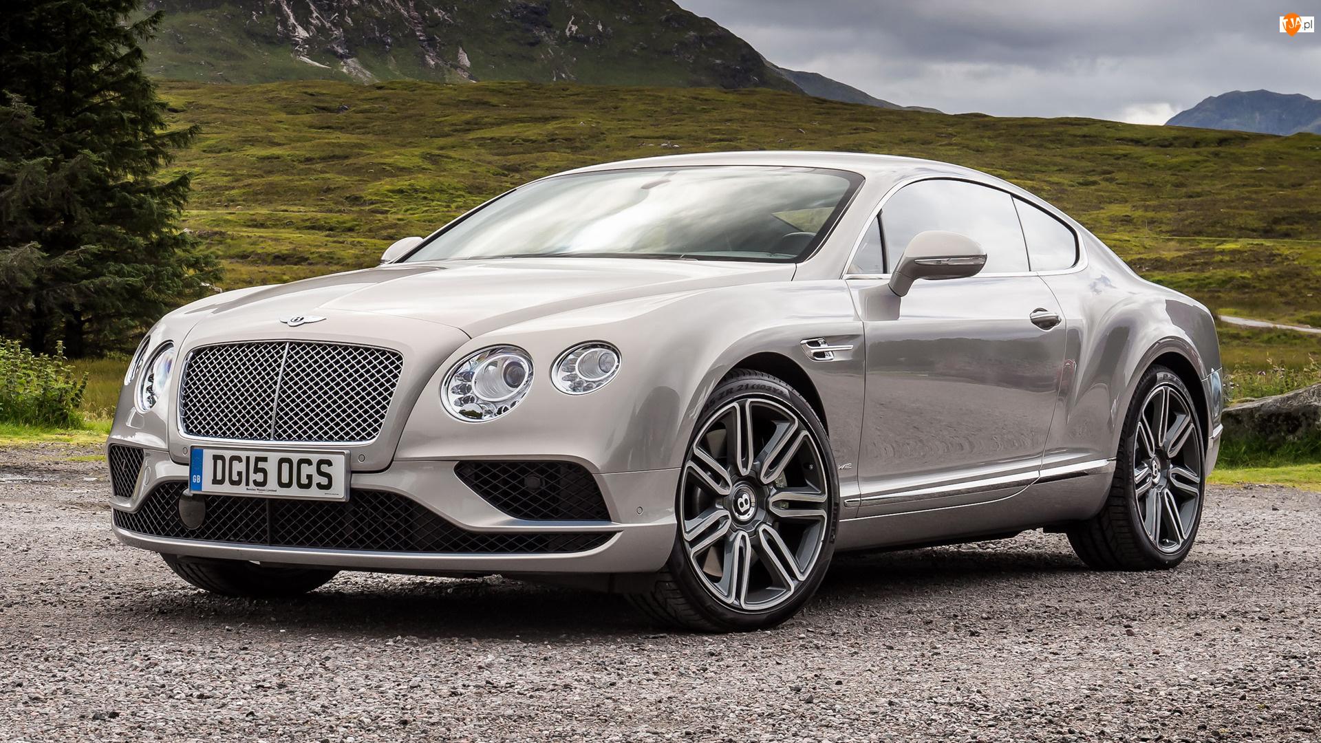 Przód, Bentley Continental GT