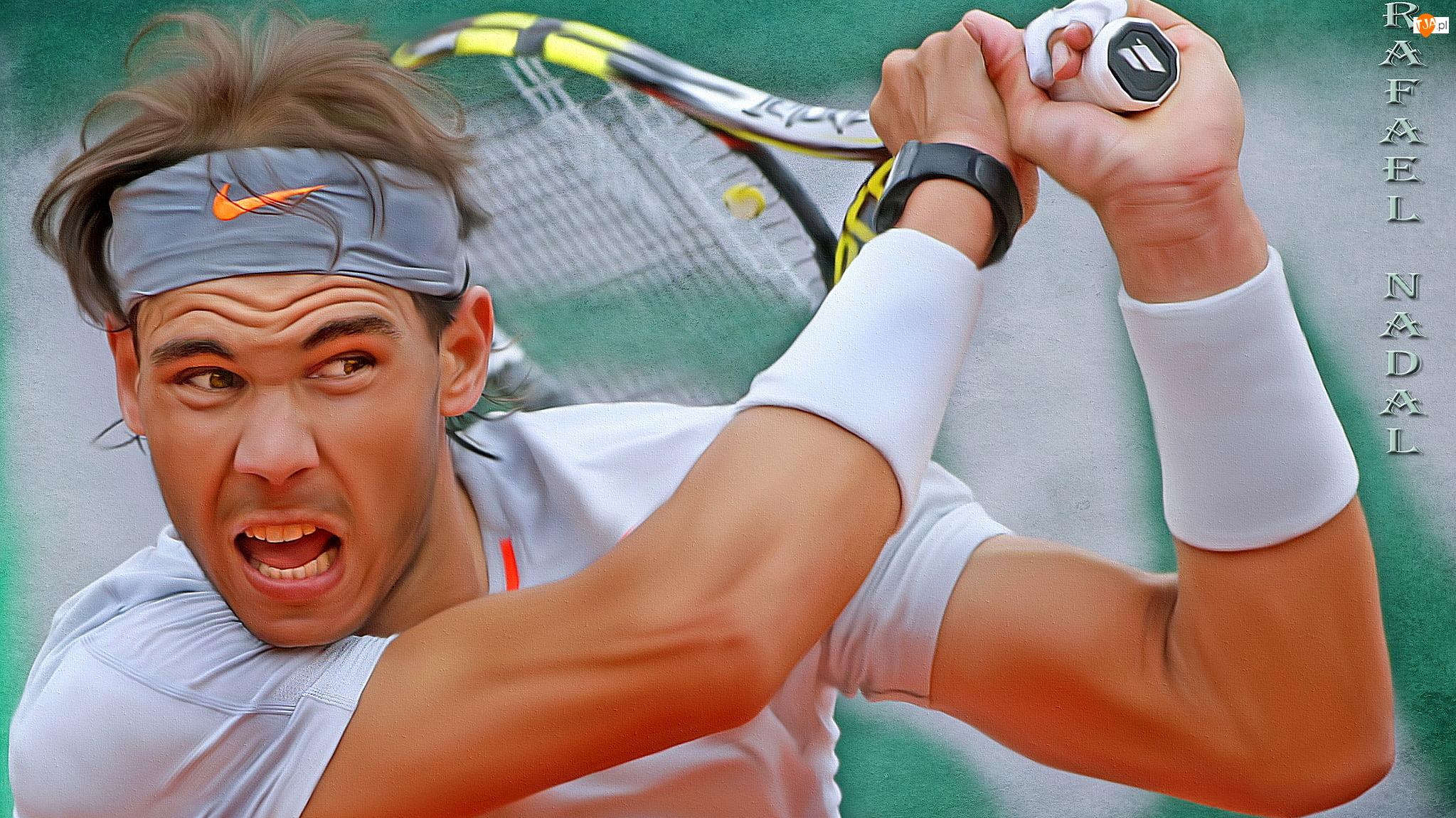 Grafika, Rafael Nadal, Tenis