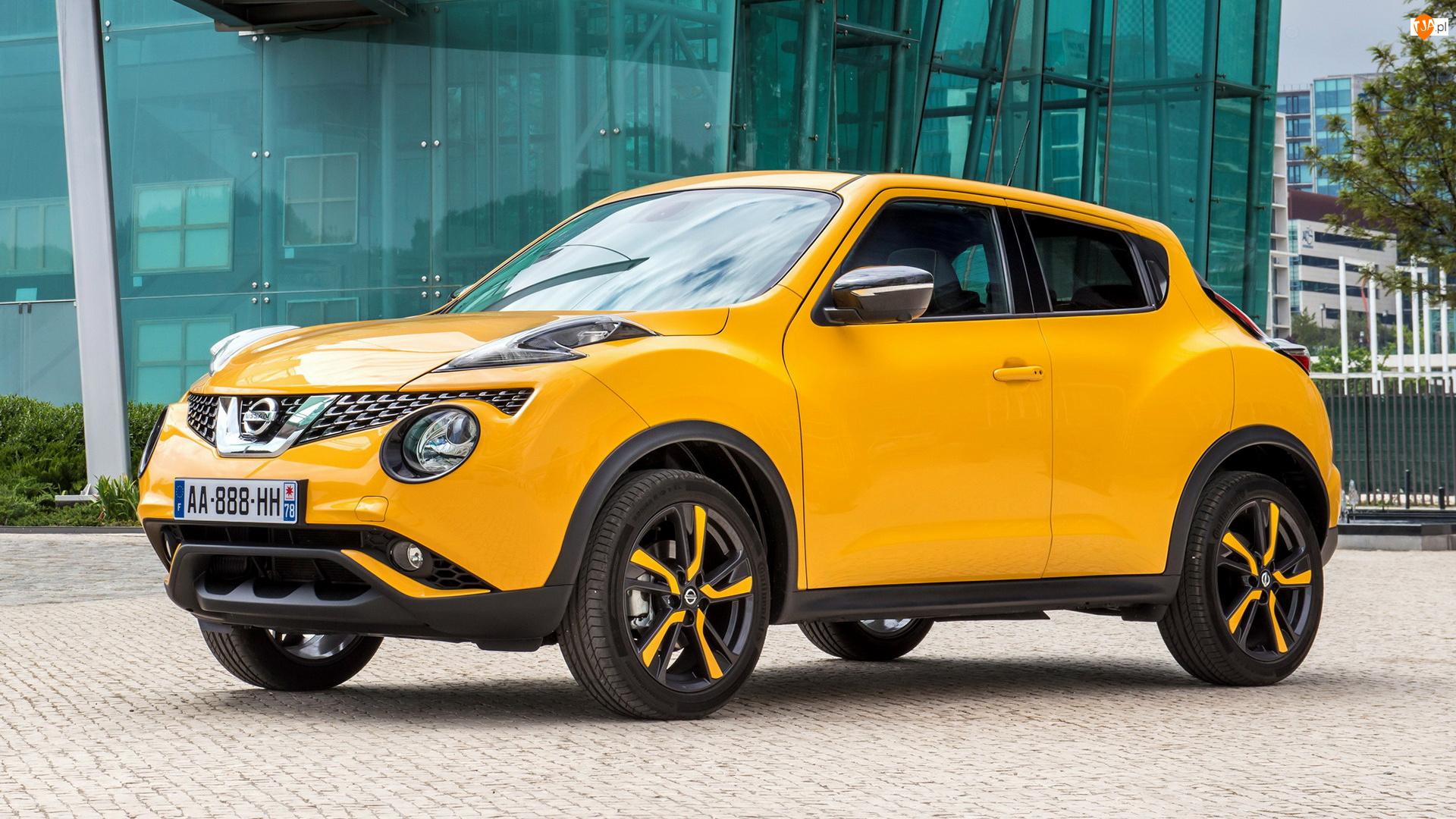 Nissan Juke, Żółty