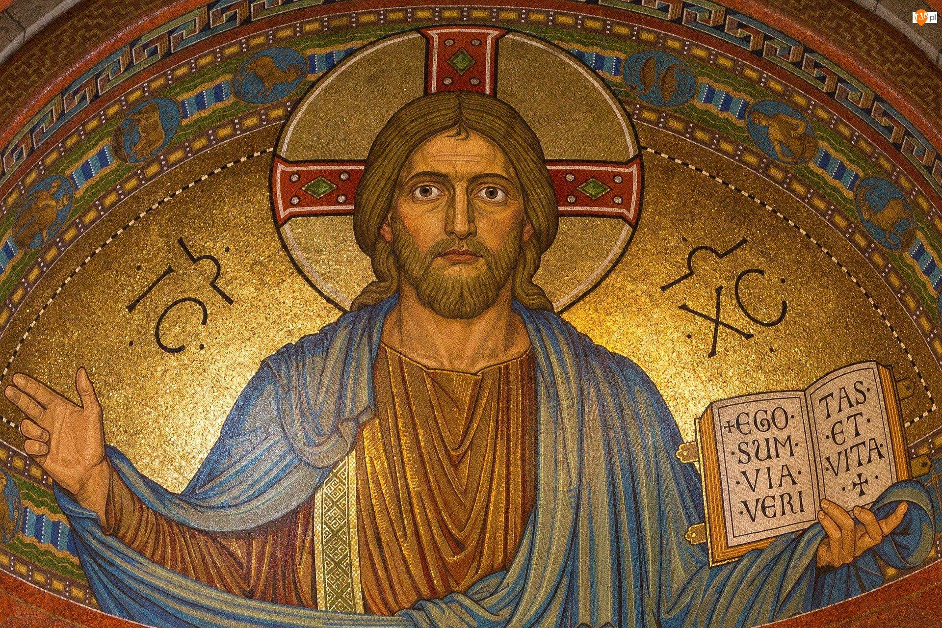 Mozaika, Jezus Chrystus