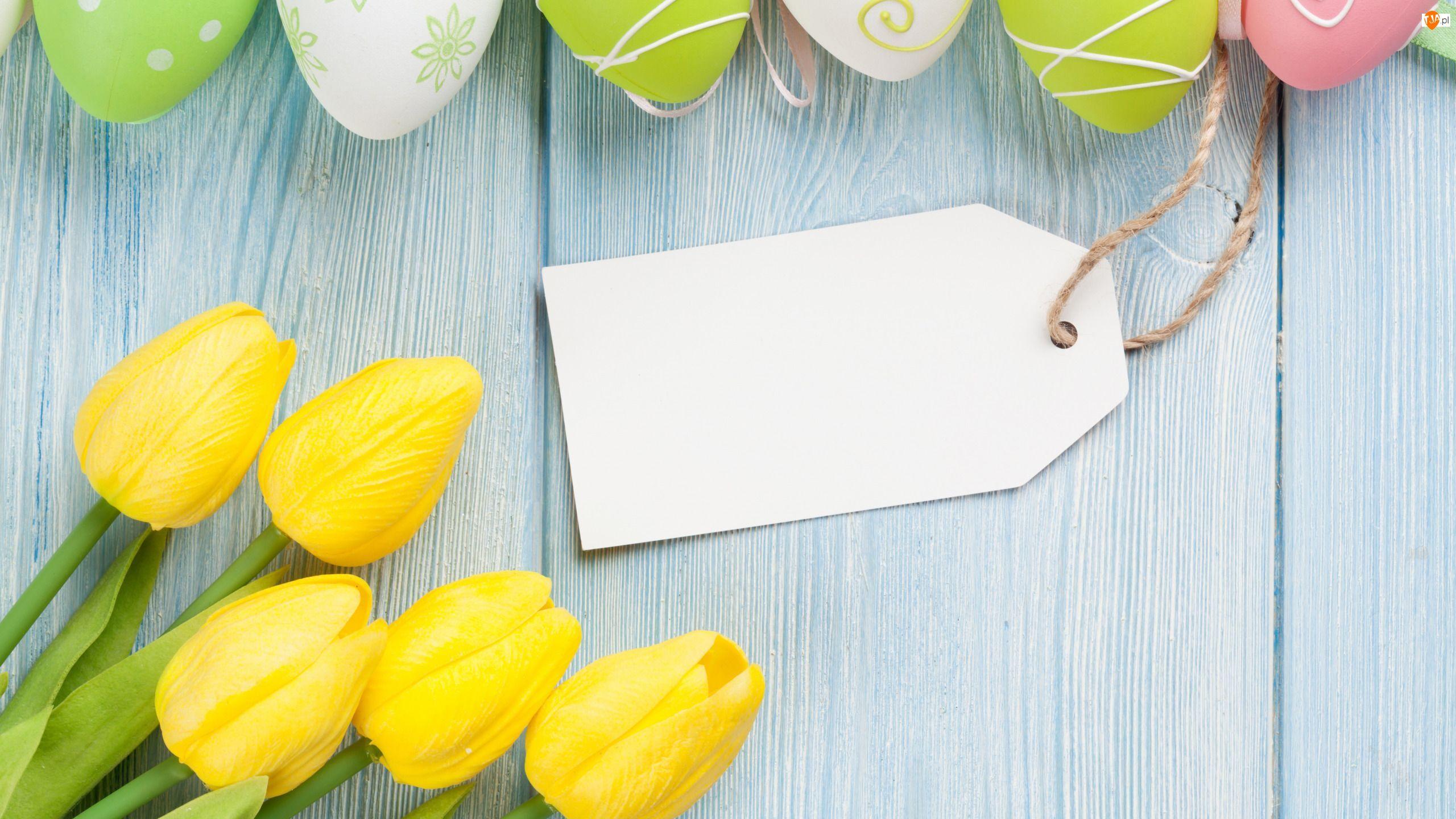 Tulipany, Kwiaty, Pisanki, Wielkanoc, Zawieszka, Jajeczka