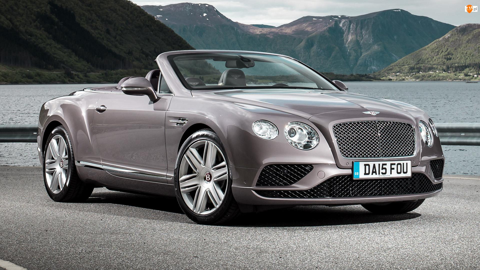 Przód, Bentley Continental GT, Kabriolet