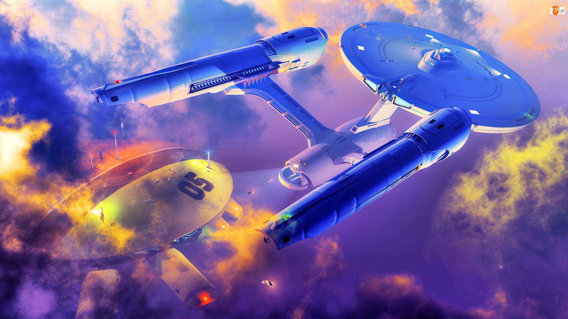 Grafika, Enterprise, Statki kosmiczne