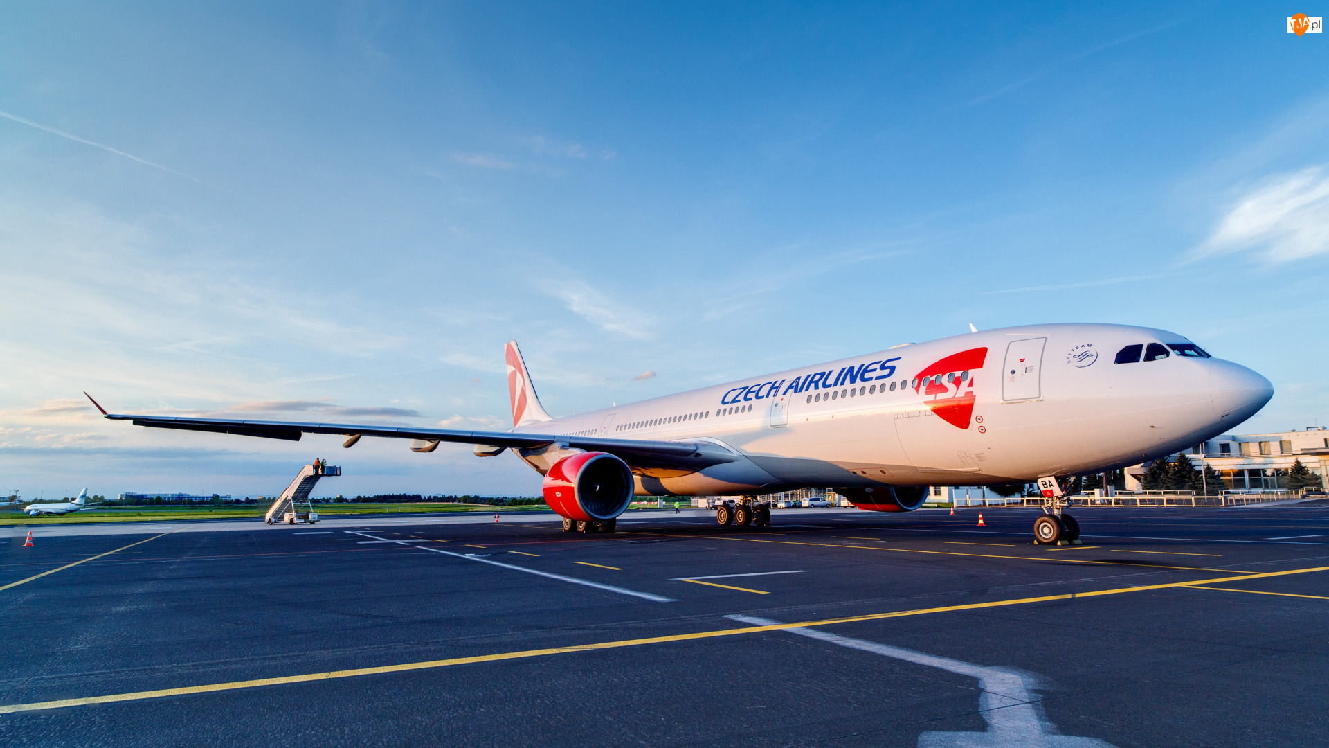 Czech Airlines, Samolot, Airbus A330, Linie lotnicze