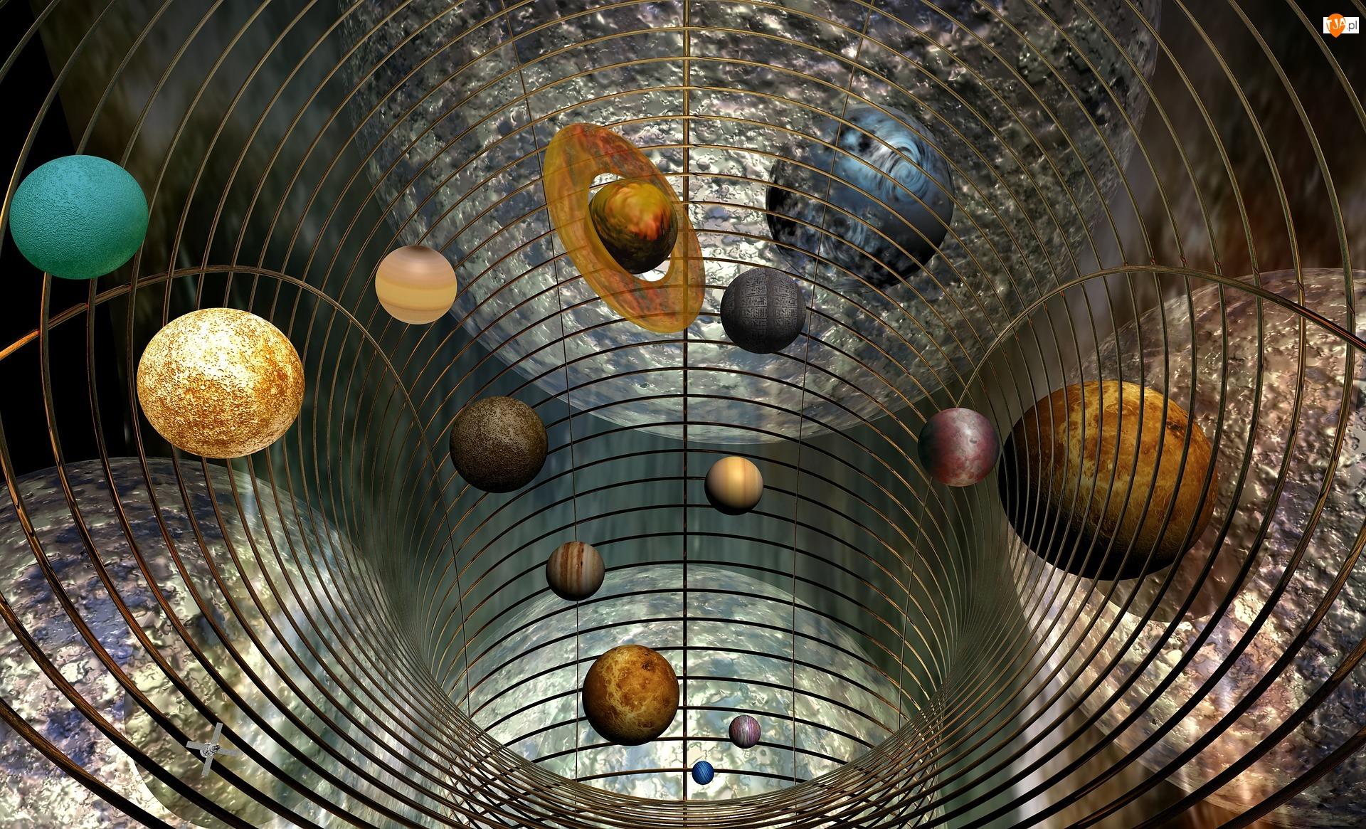 Grafika, Planety