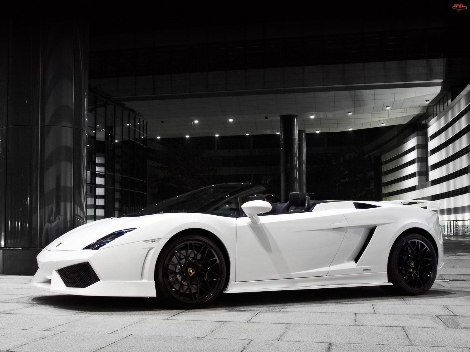 Lamborghini Gallardo, Felgi, Kabriolet, Czarne