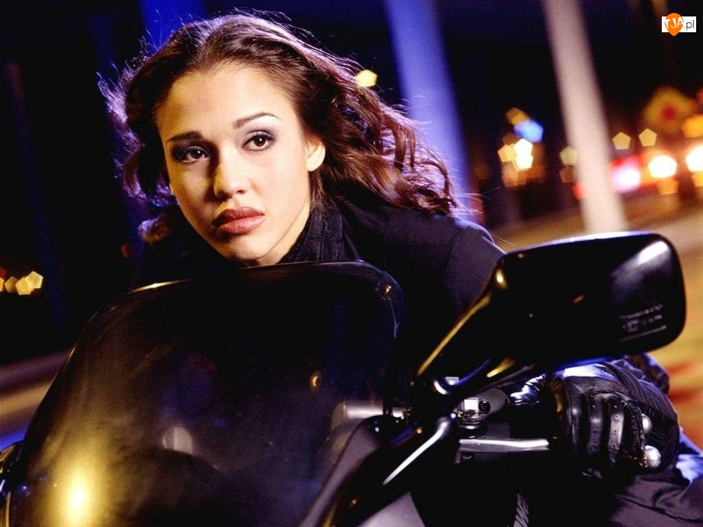 motor, piękna, Jessica Alba