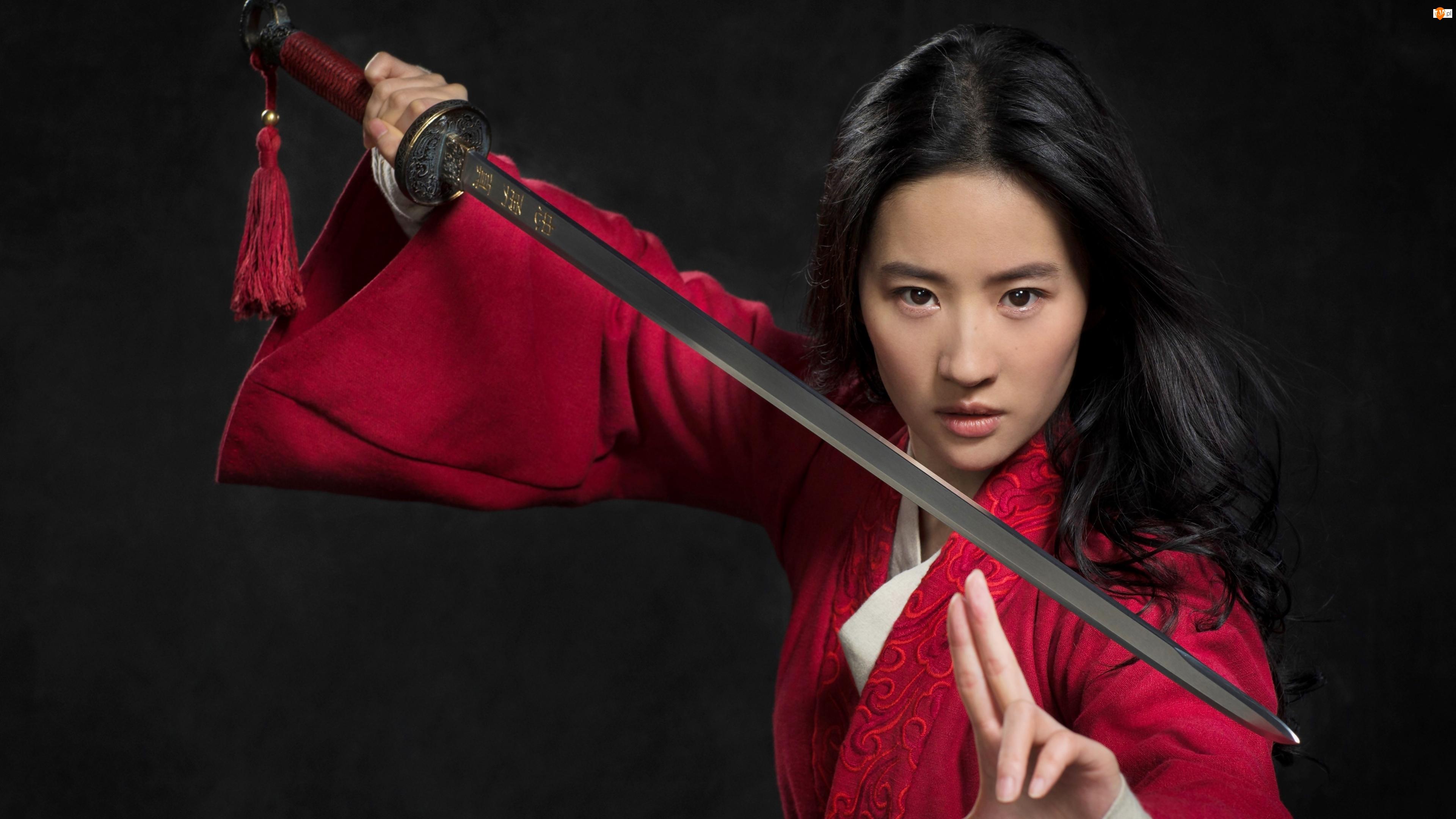 Aktorka, Broń, Mulan, Film, Liu Yifei