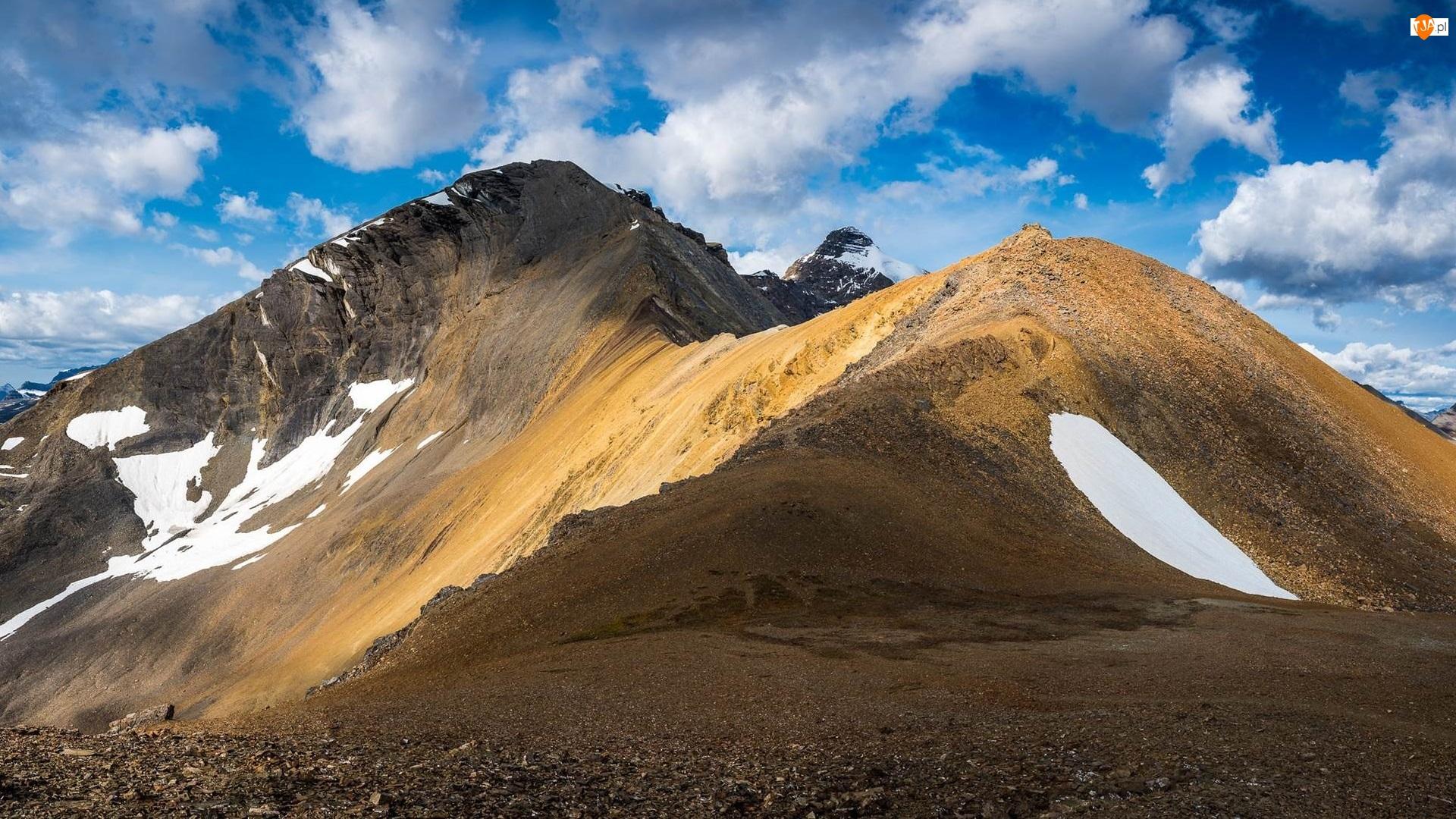 Śnieg, Skaliste, Góry, Szczyty
