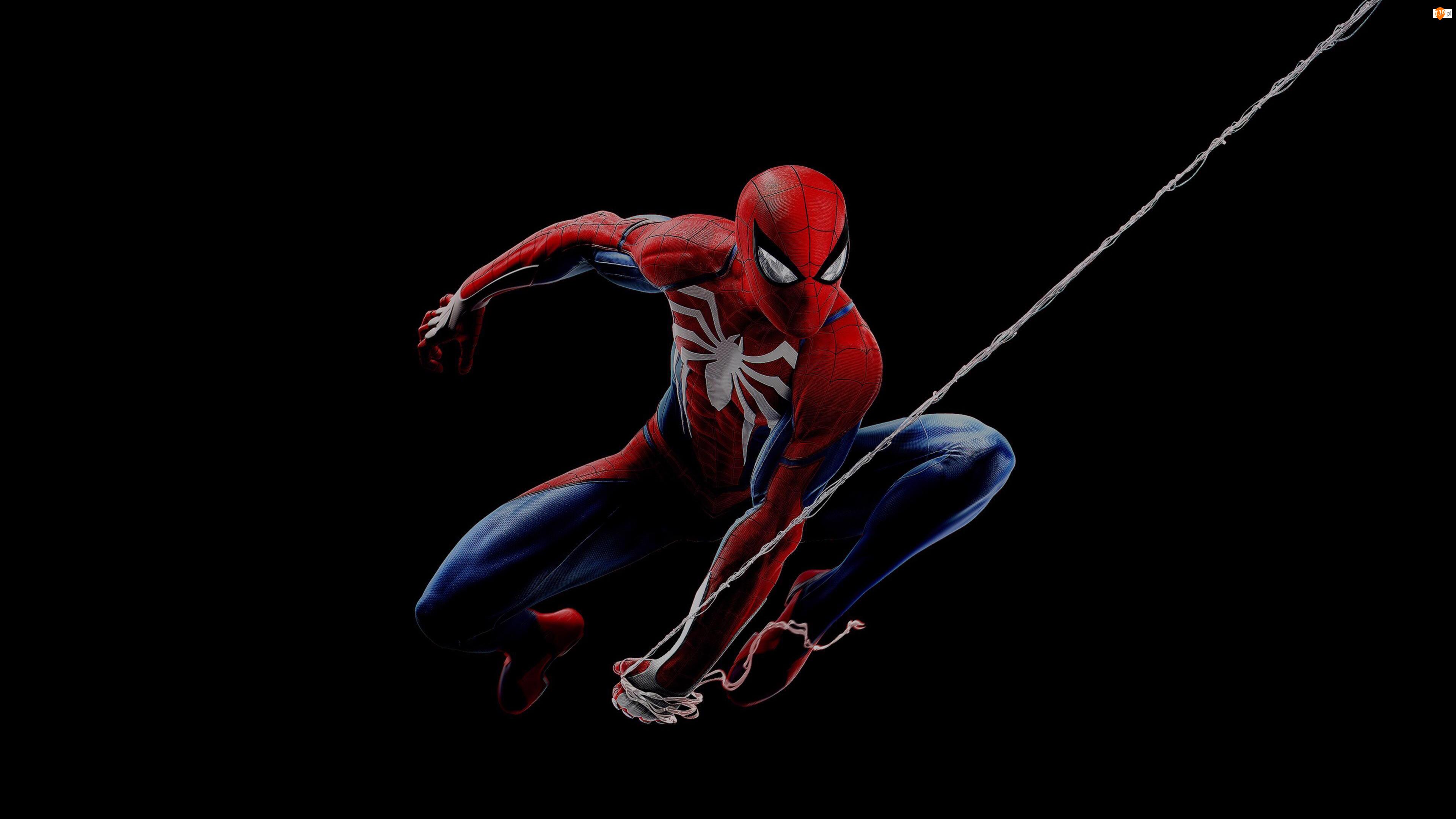 Tło, Film animowany, Spiderman, Czarne