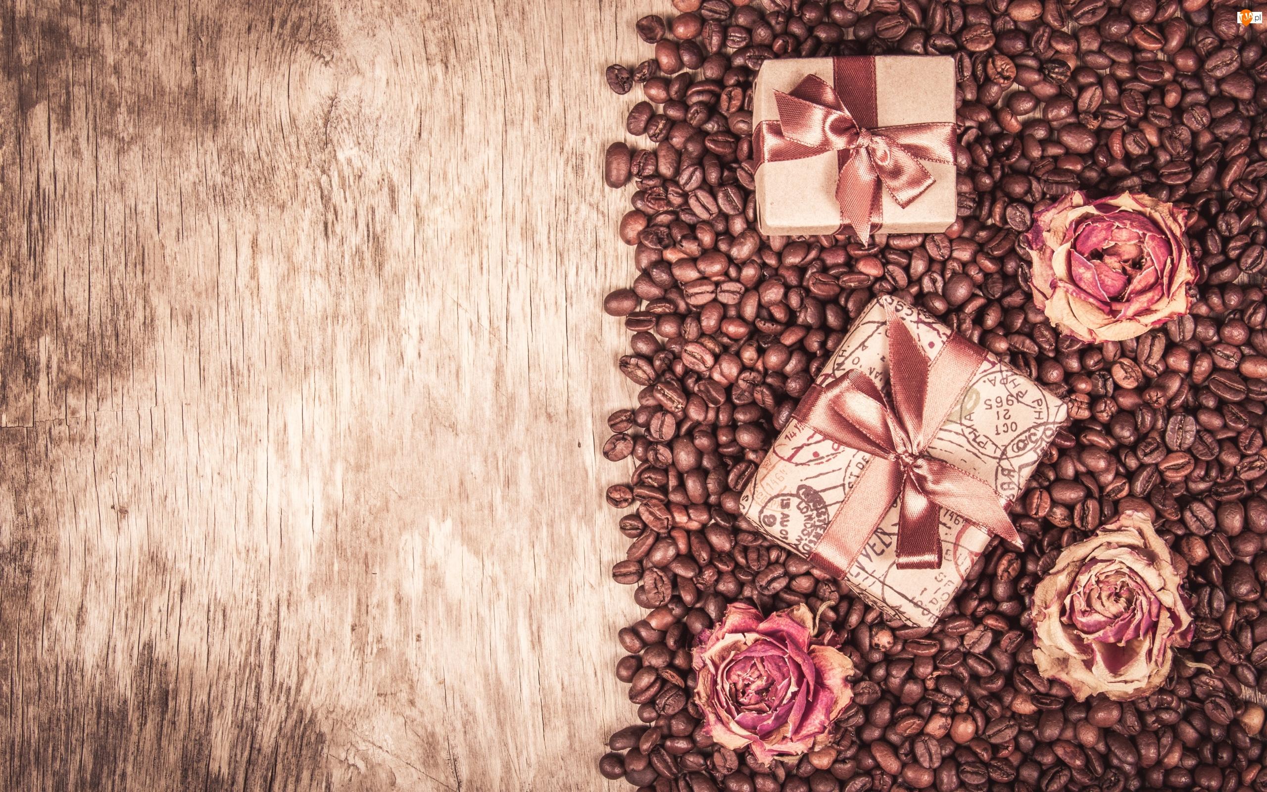 Róże, Ziarna, Kawa, Prezenty