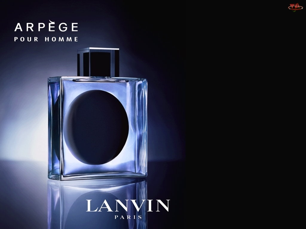 perfumy, Lanvin, flakon