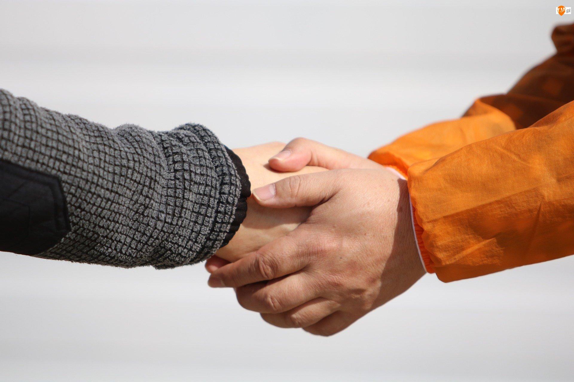 Uścisk, Ręce, Dłonie