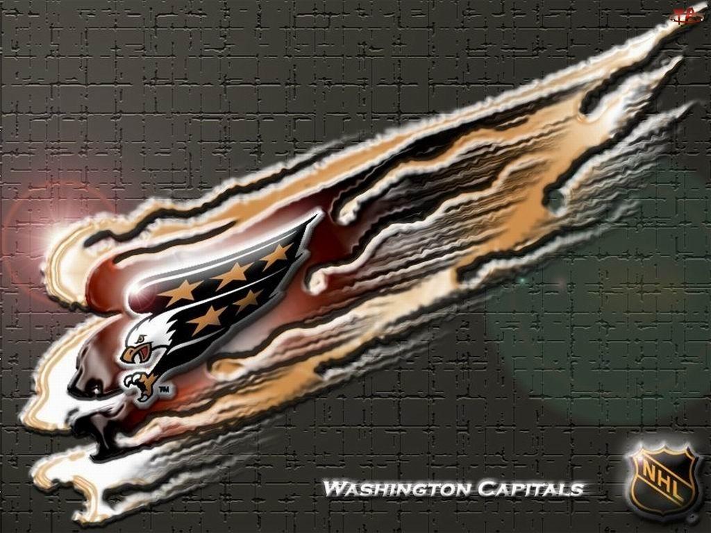 Logo, Washington Capitals, Drużyny, NHL