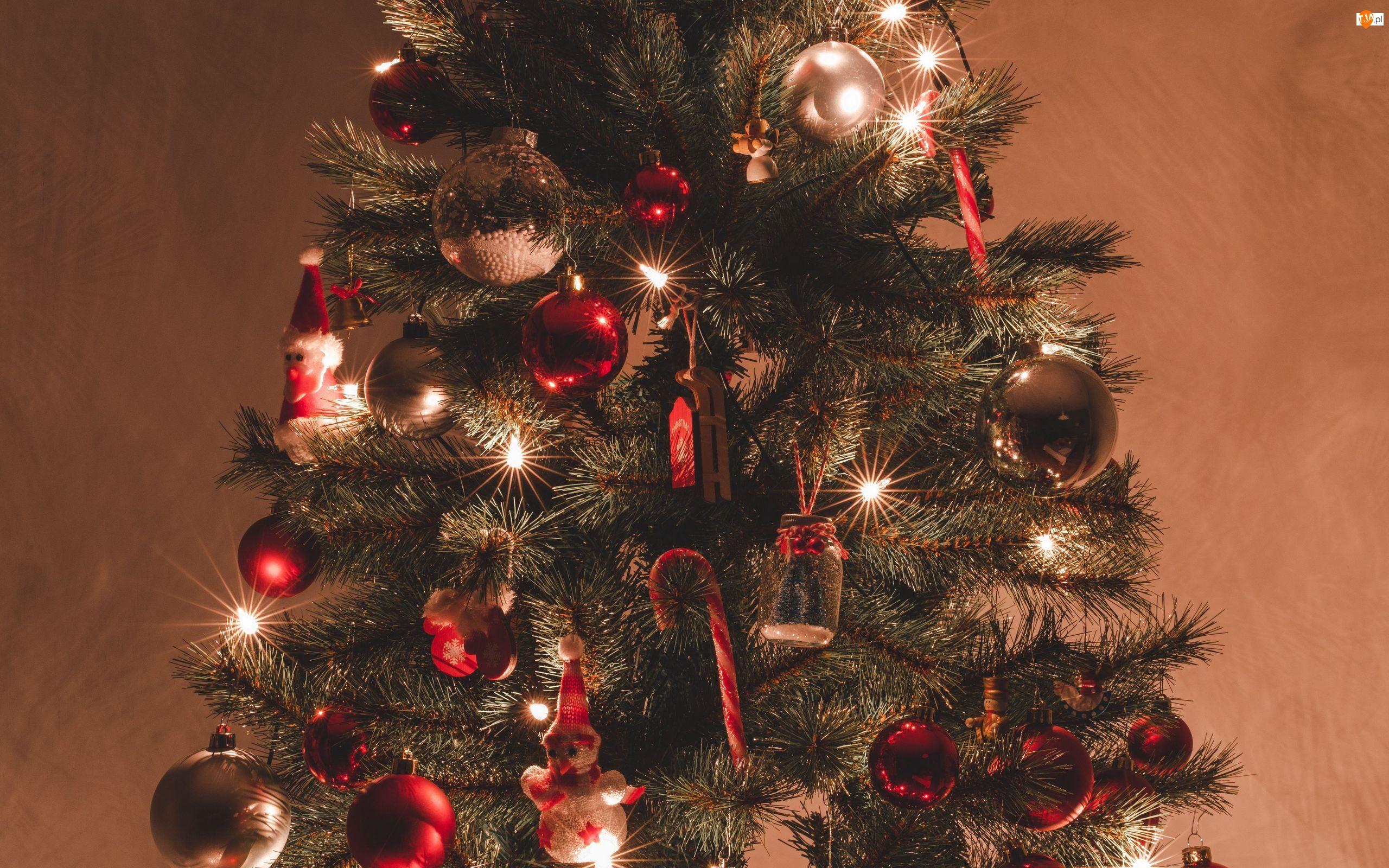Boże Narodzenie, Choinka, Ozdoby