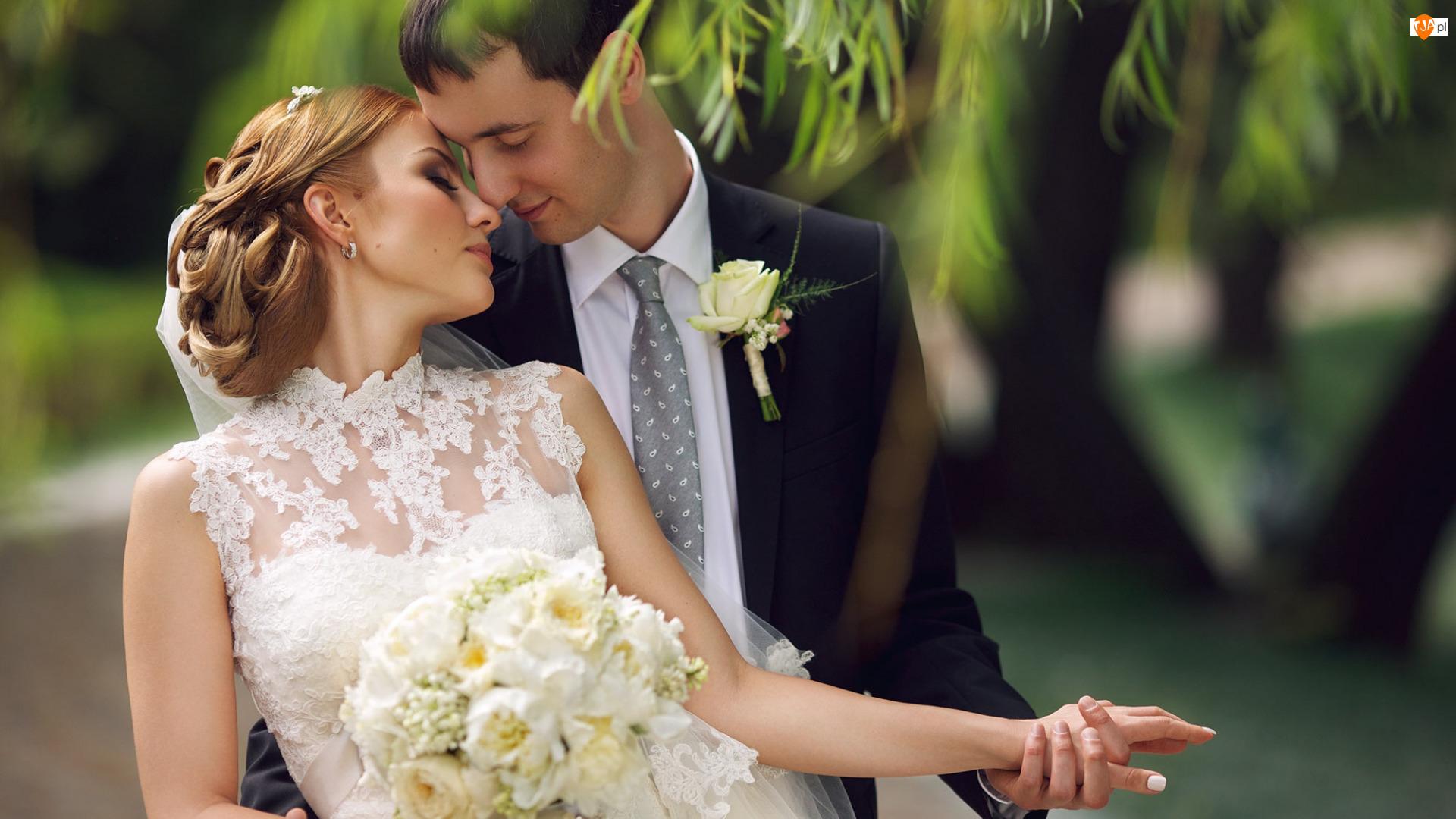 Pan młody, Ślub, Panna młoda