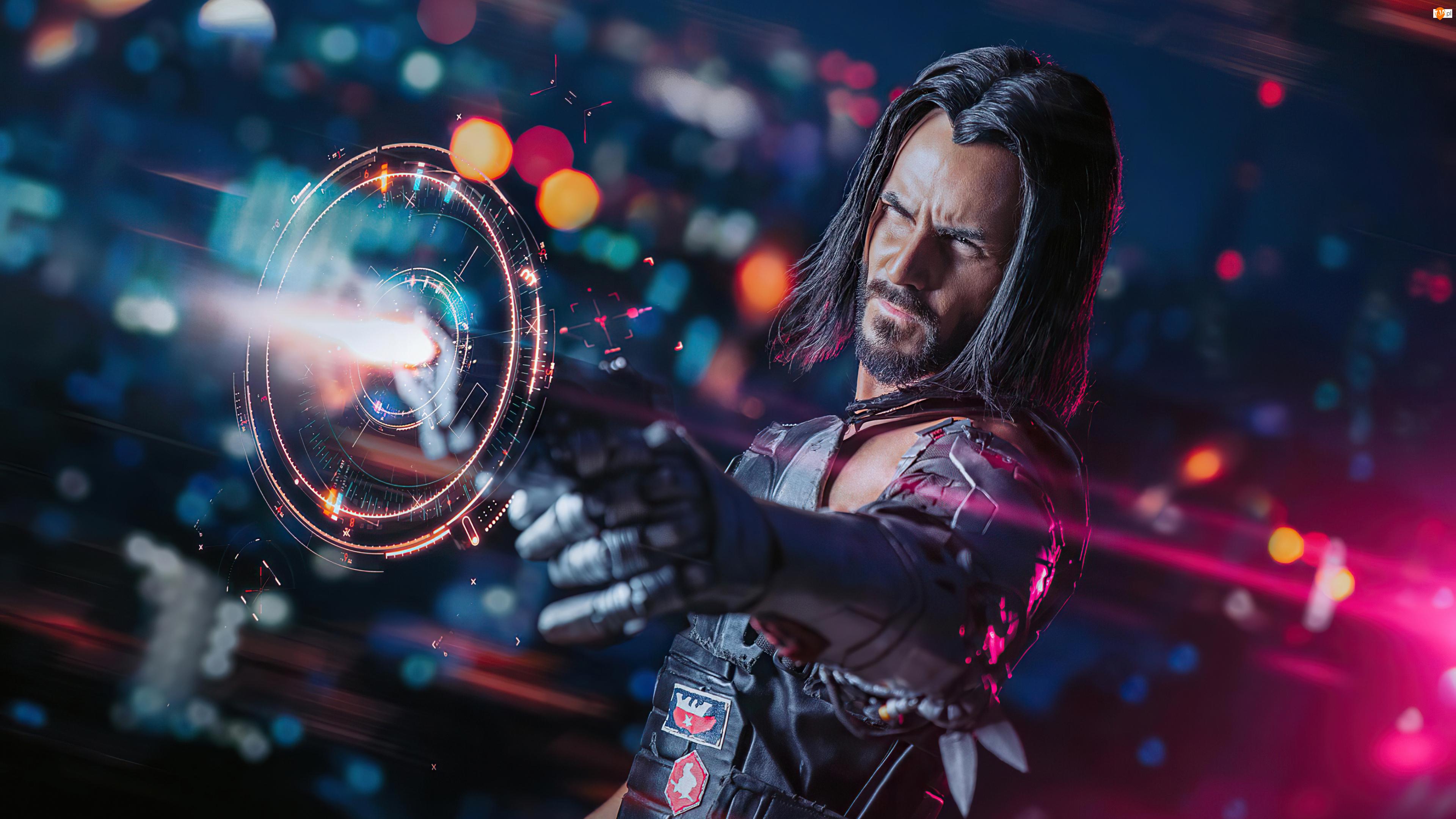 Cyberpunk 2077, Gra, Johnny Silverhand, Aktor, Postać, Keanu Reeves