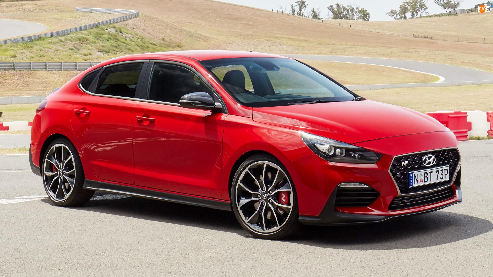 Bok, Czerwony, Hyundai i30 N