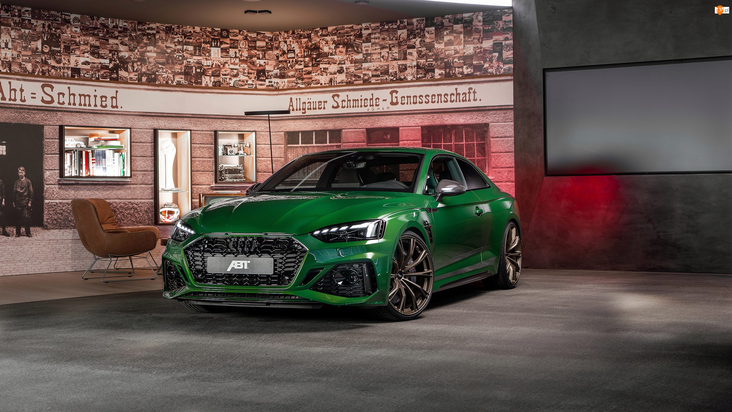 ABT, Zielone, Audi RS5, Coupe