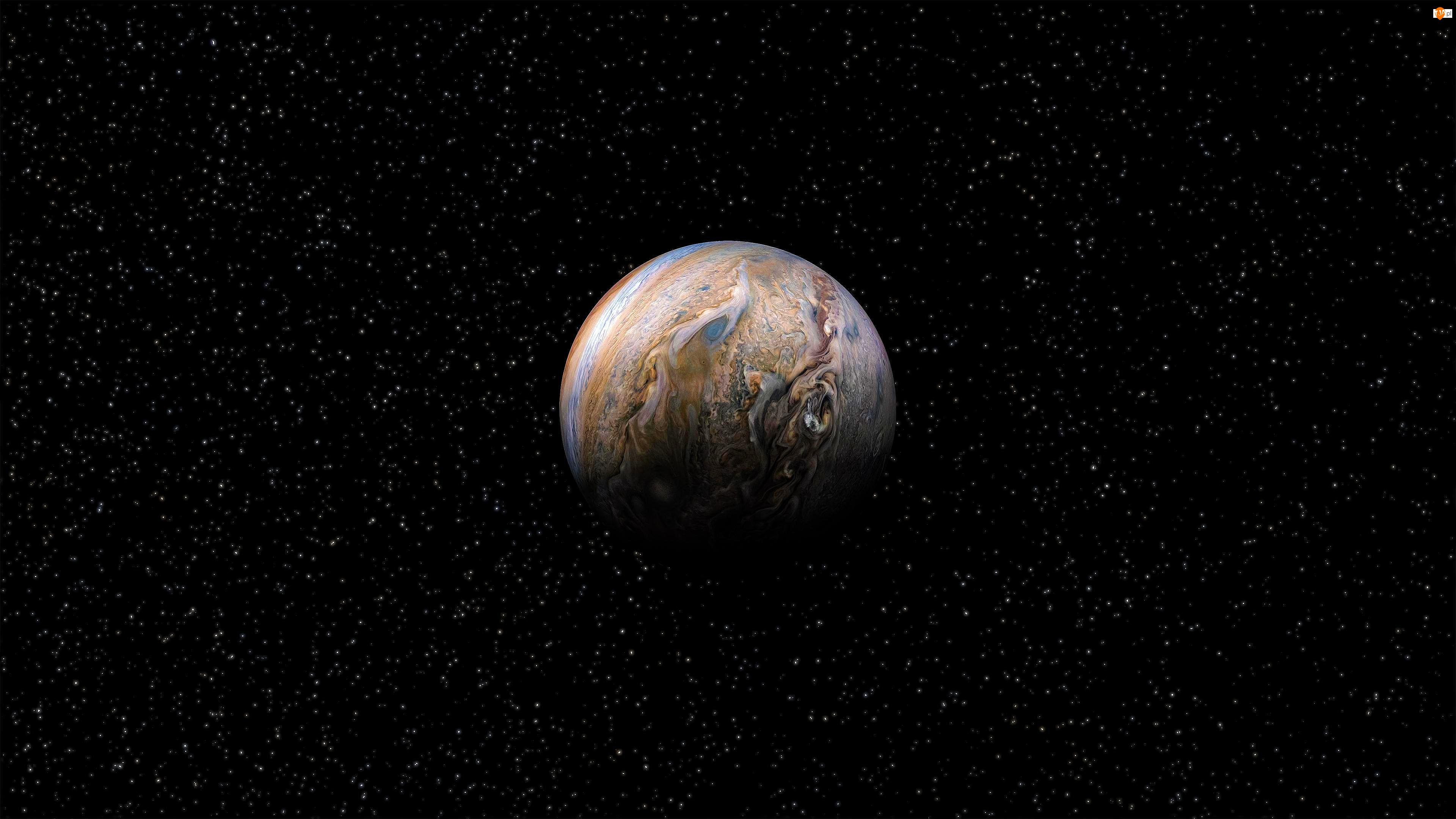 Jowisz, Gwiazdy, Planeta