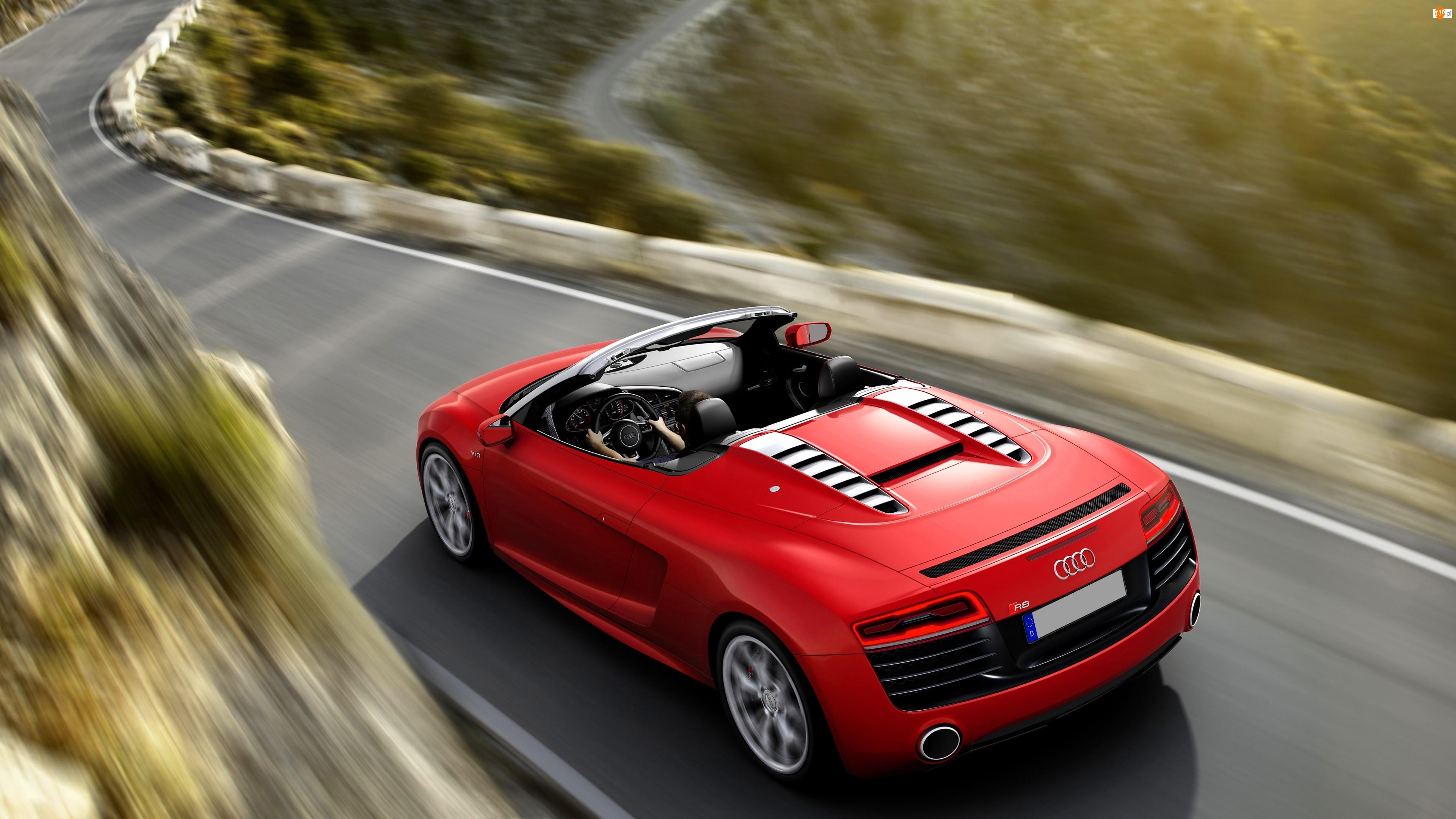 Droga, Audi R8, Cabrio