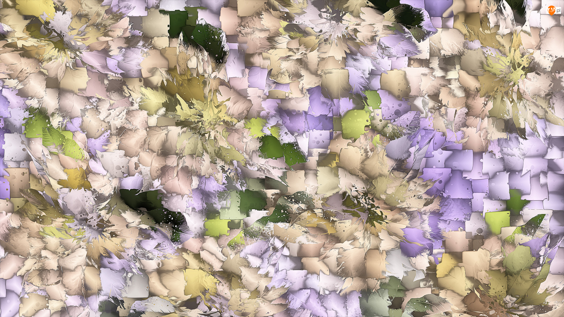 Tekstura, Beżowo-fioletowa