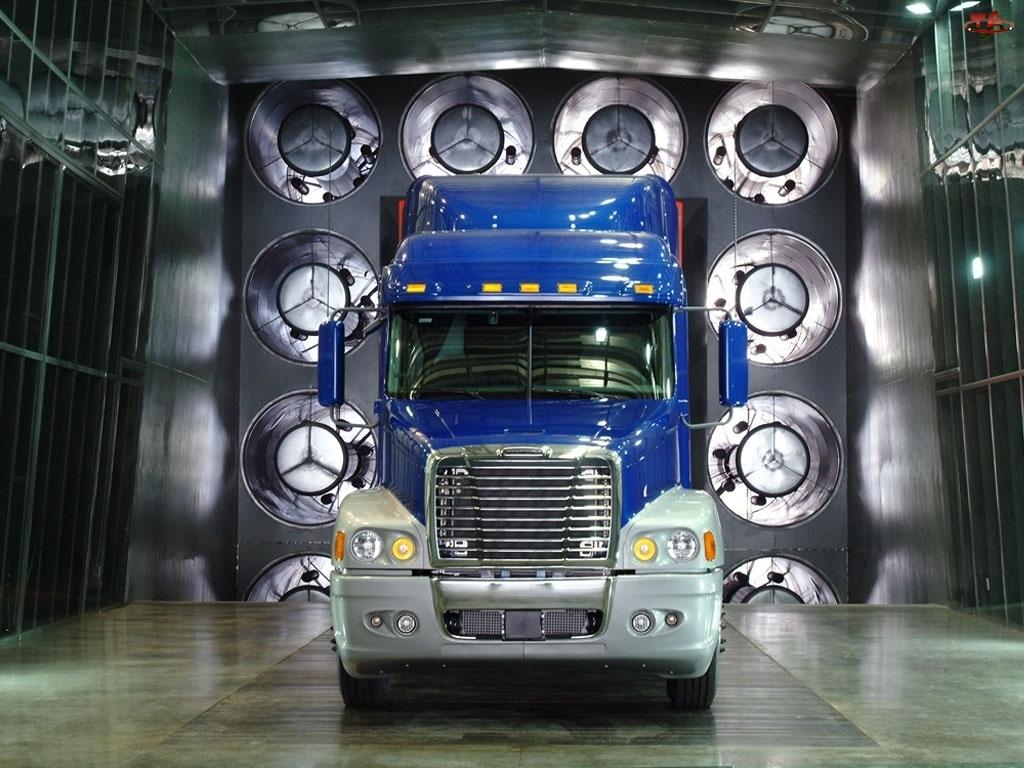 Ciężarówki, Tunel Aerodynamiczny