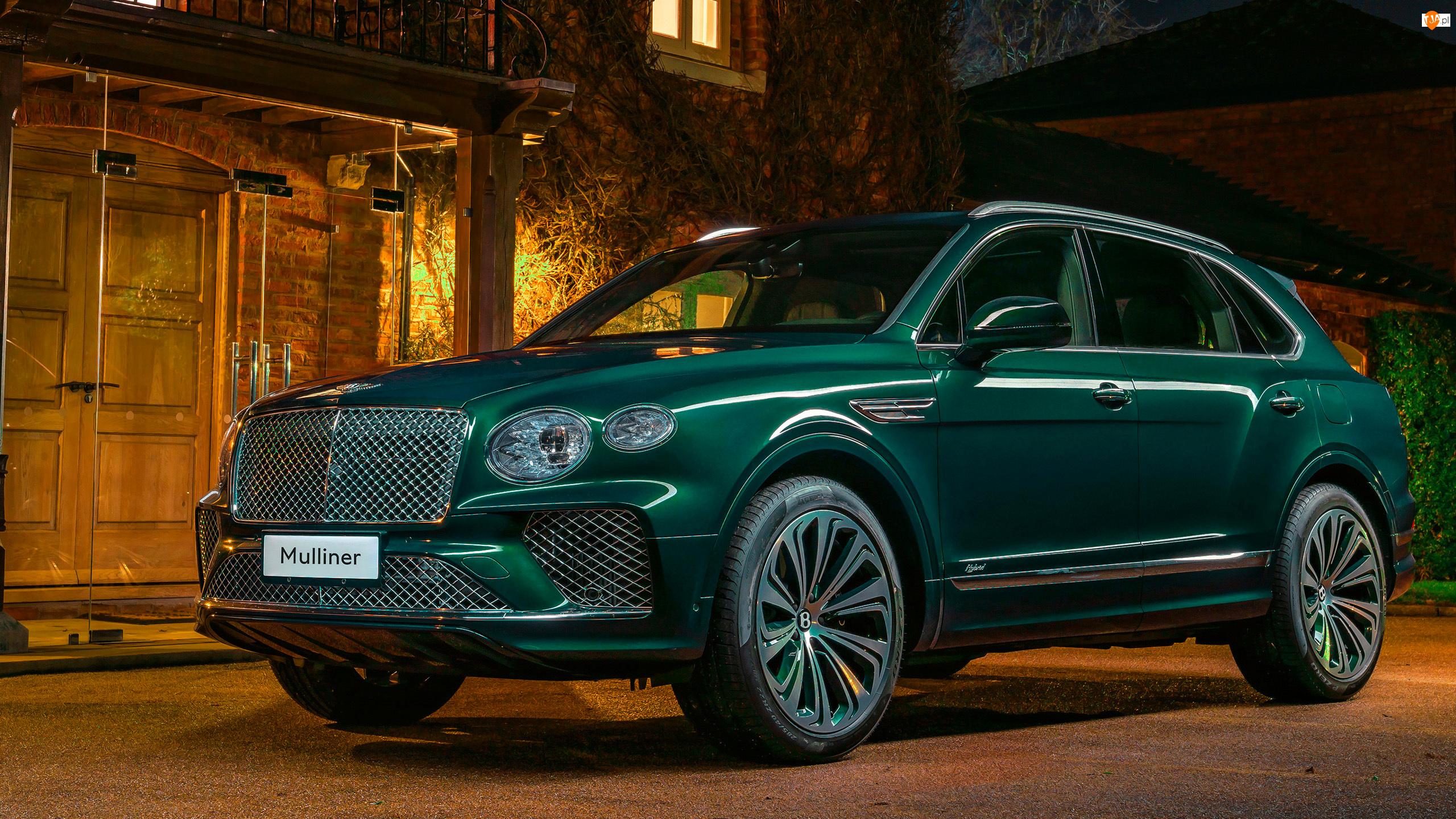 Bentley Bentayga Mulliner, Zielony