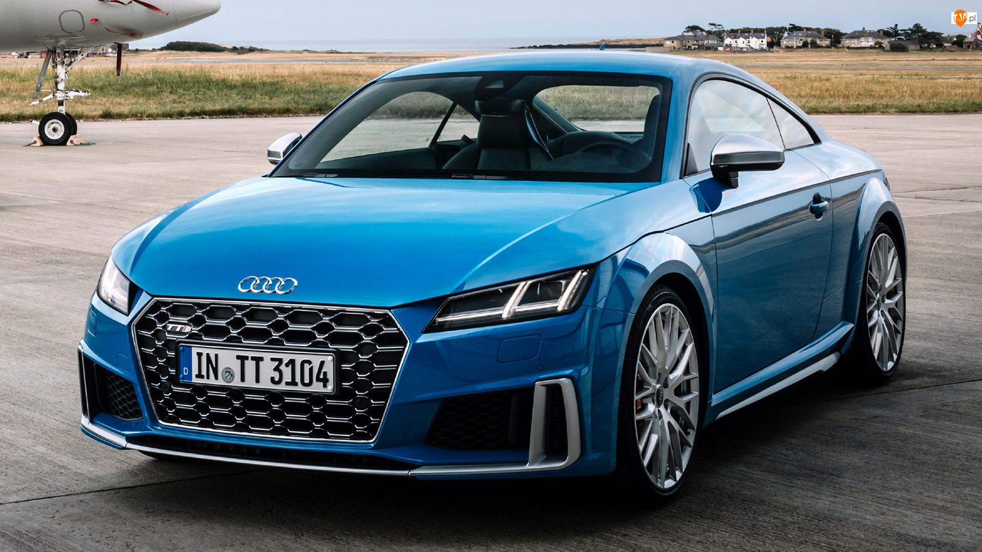 Audi TT S Coupe, Niebieskie