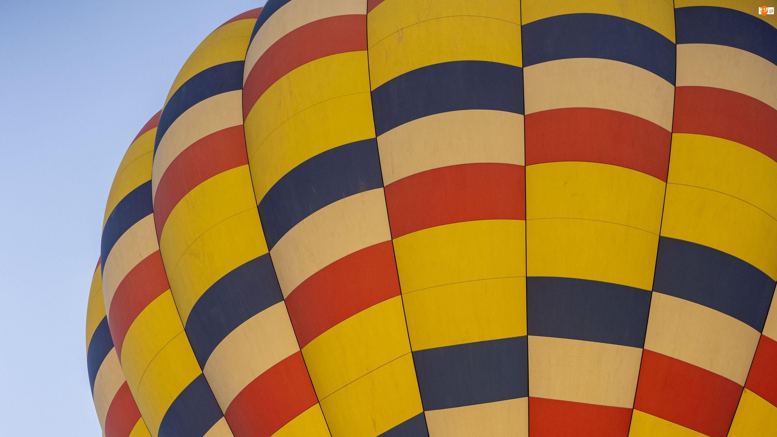 Czasza, Balon, Niebo, Kolorowa